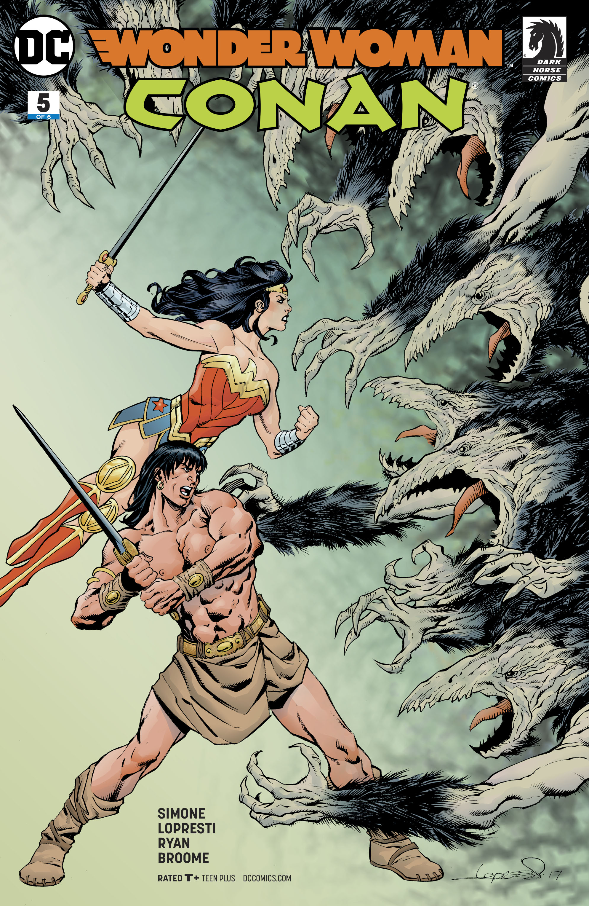 WONDER WOMAN CONAN #5 (OF 6)