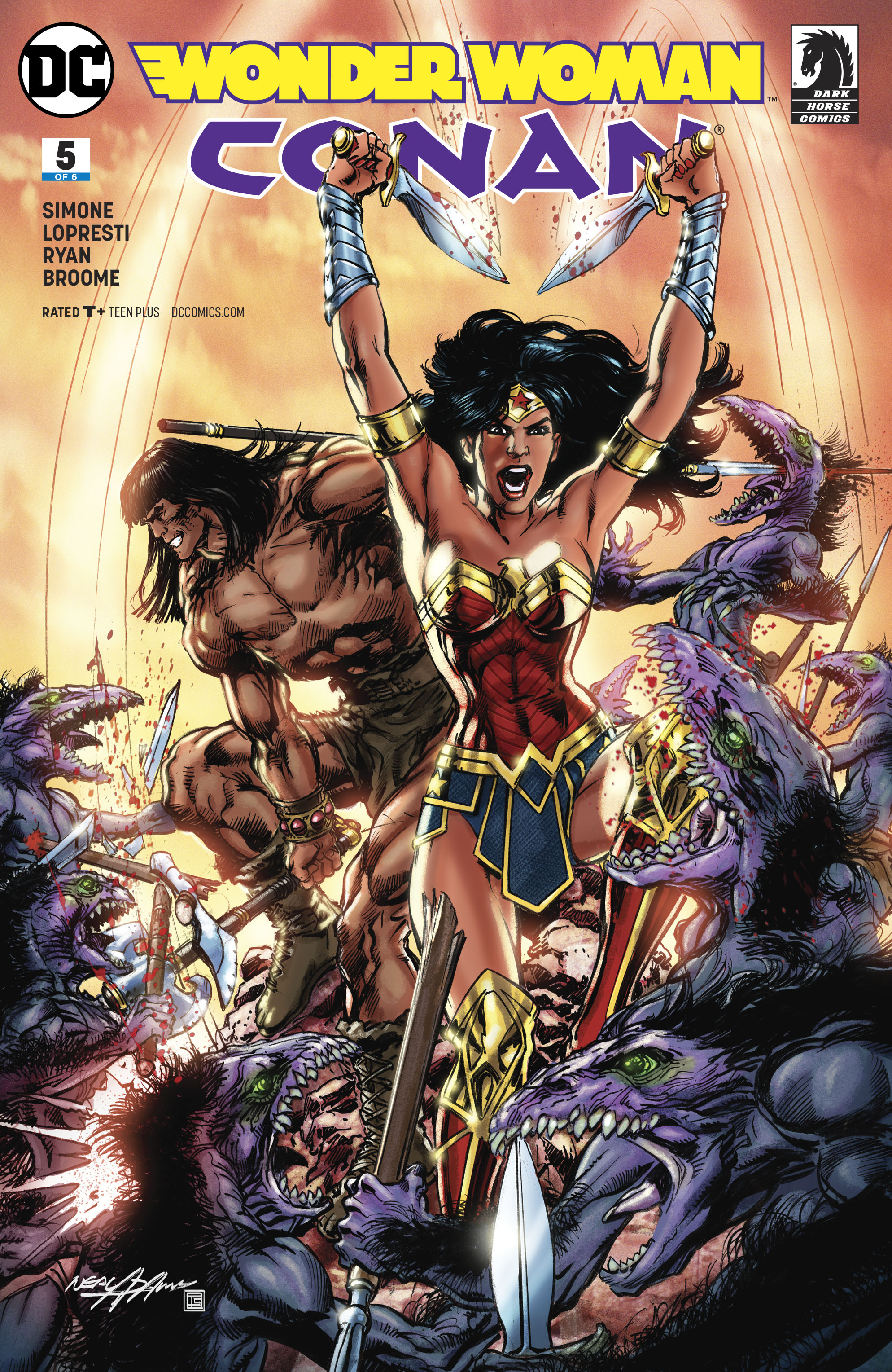 WONDER WOMAN CONAN #5 (OF 6) VAR ED