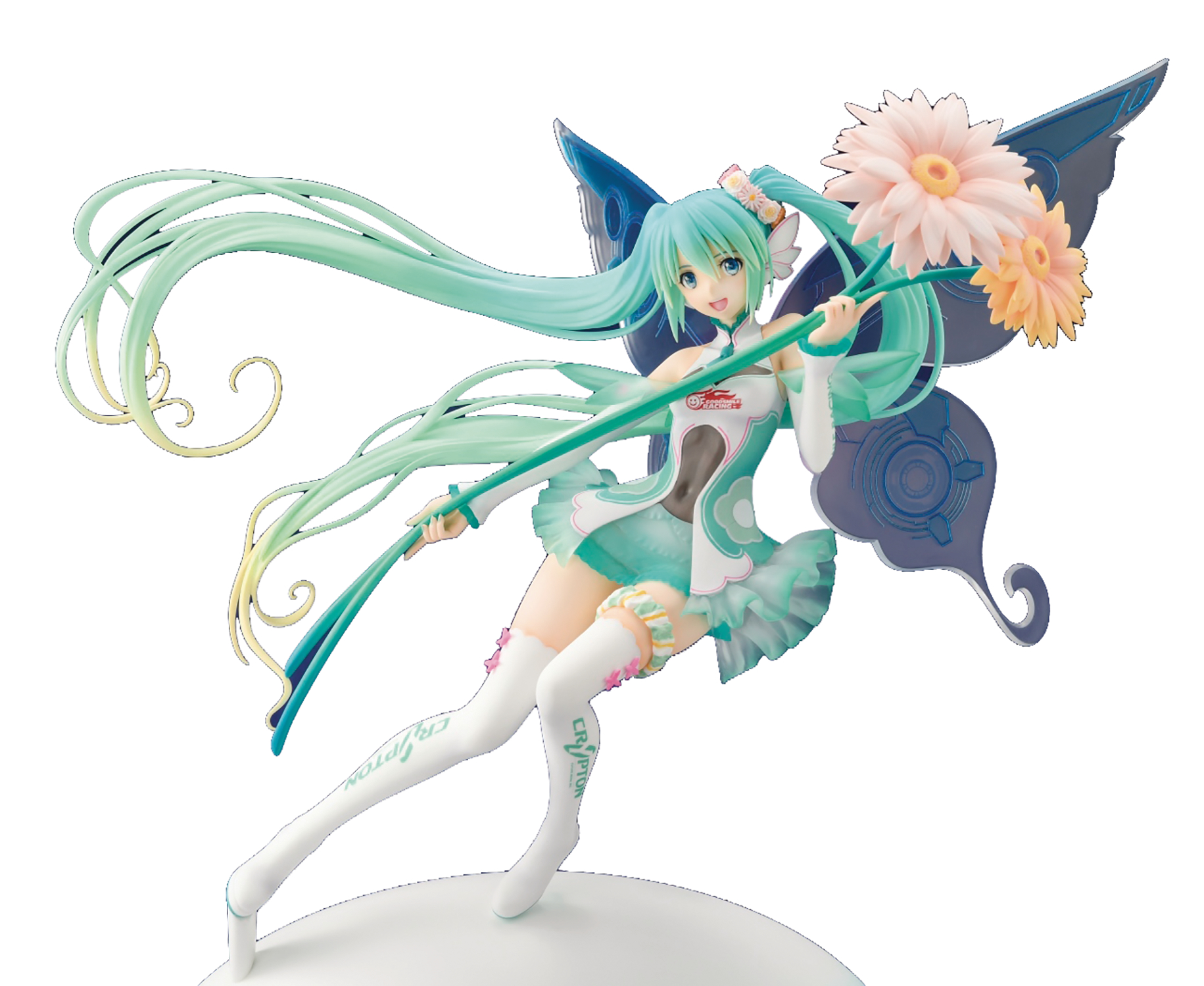 HATSUNE MIKU GT PROJECT RACING MIKU 2017 PVC FAIRY VER