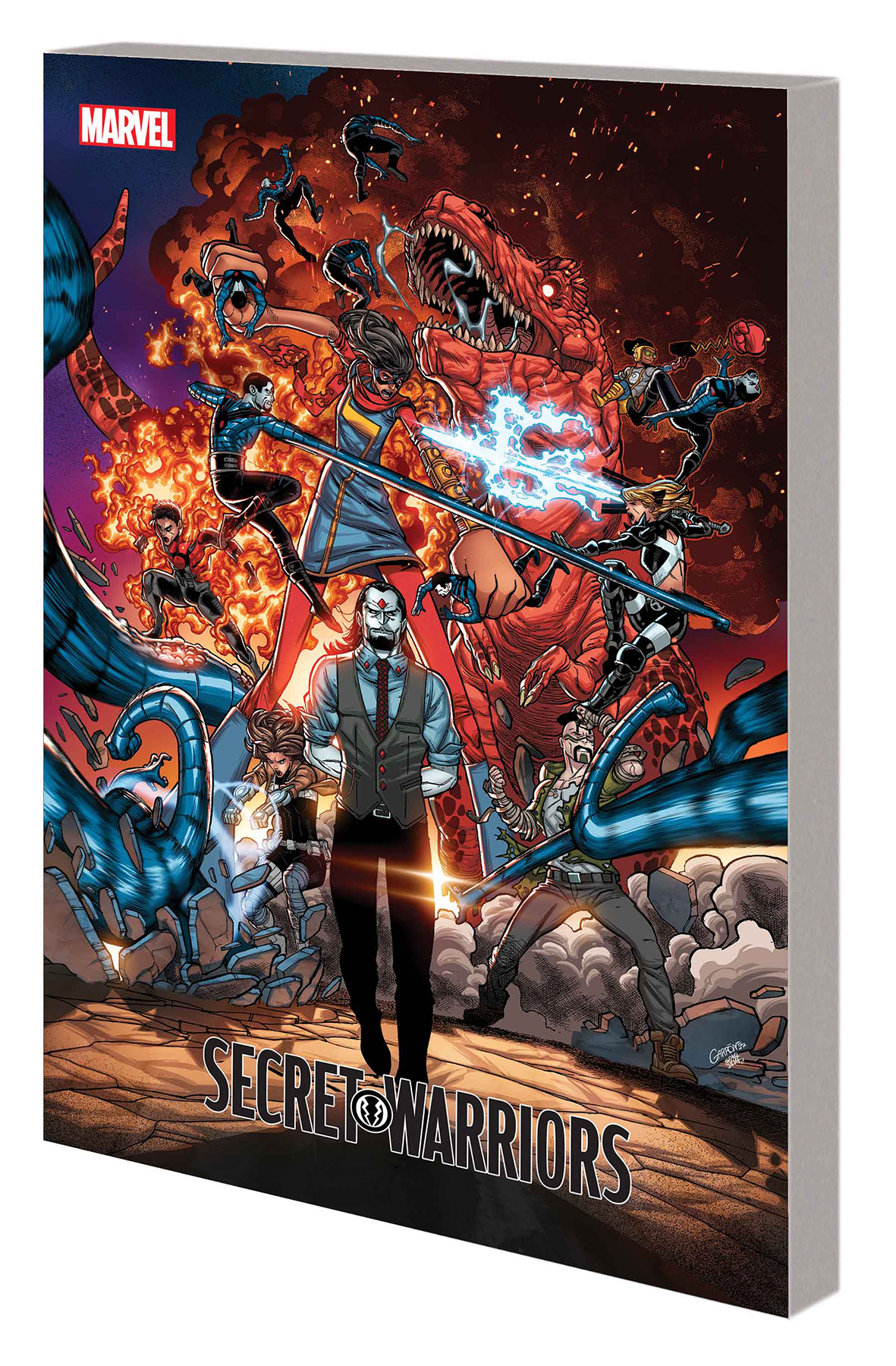 SECRET WARRIORS TP VOL 02 IF TROUBLE MUST COME