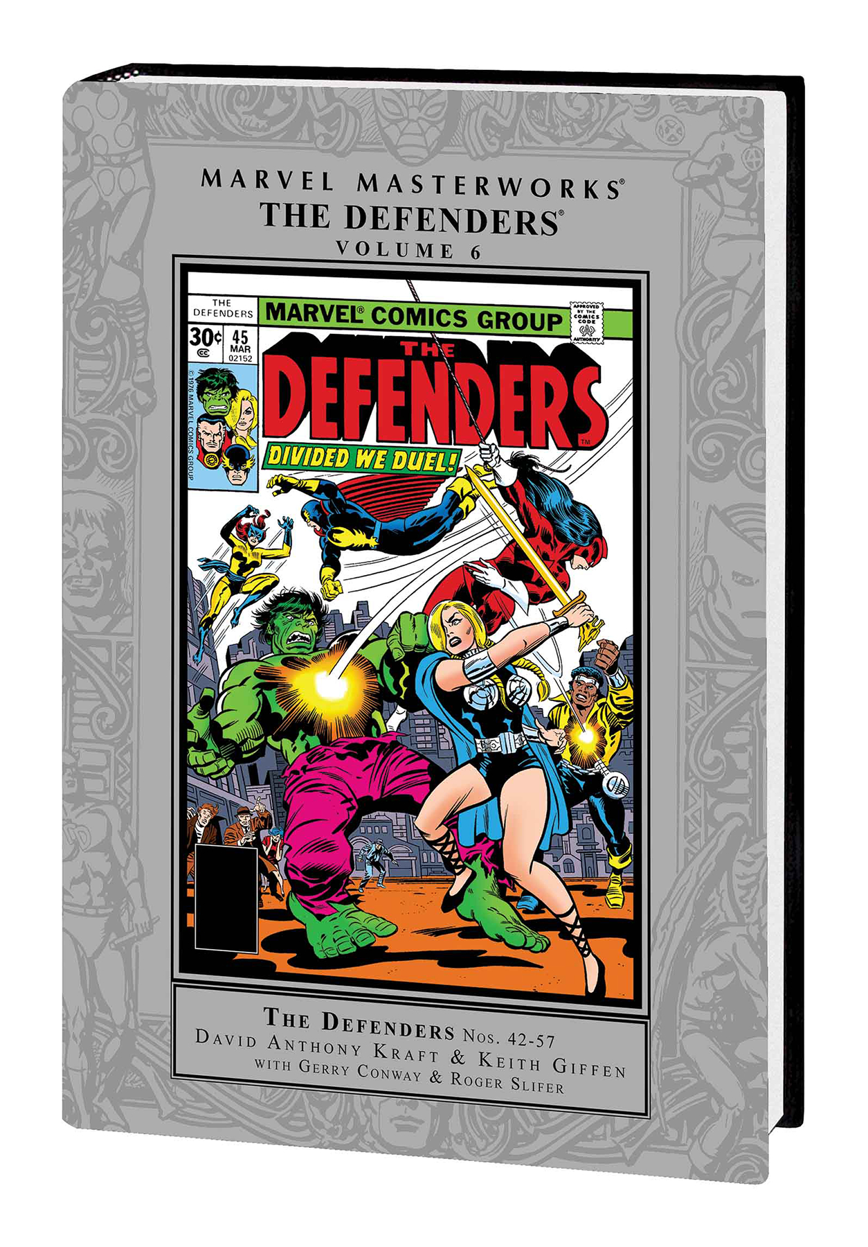 MMW DEFENDERS HC VOL 06