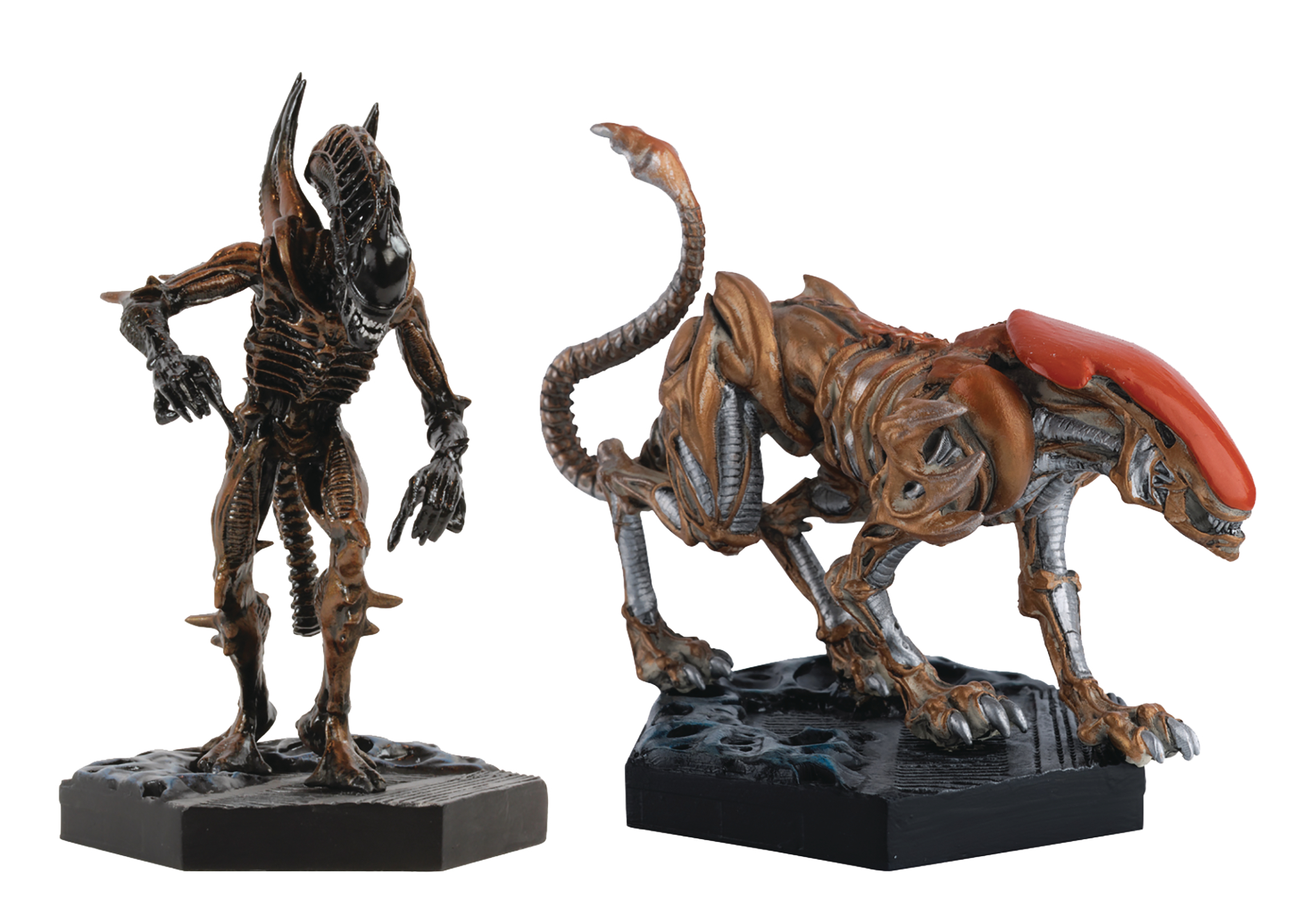ALIENS RETRO FIG COLL #3 PANTHER & SCORPION SET