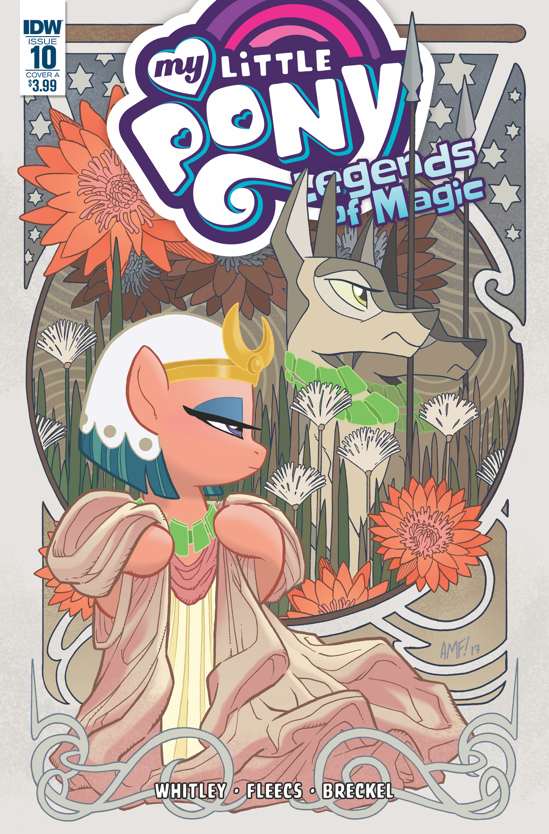 MY LITTLE PONY LEGENDS OF MAGIC #10 CVR A FLEECS