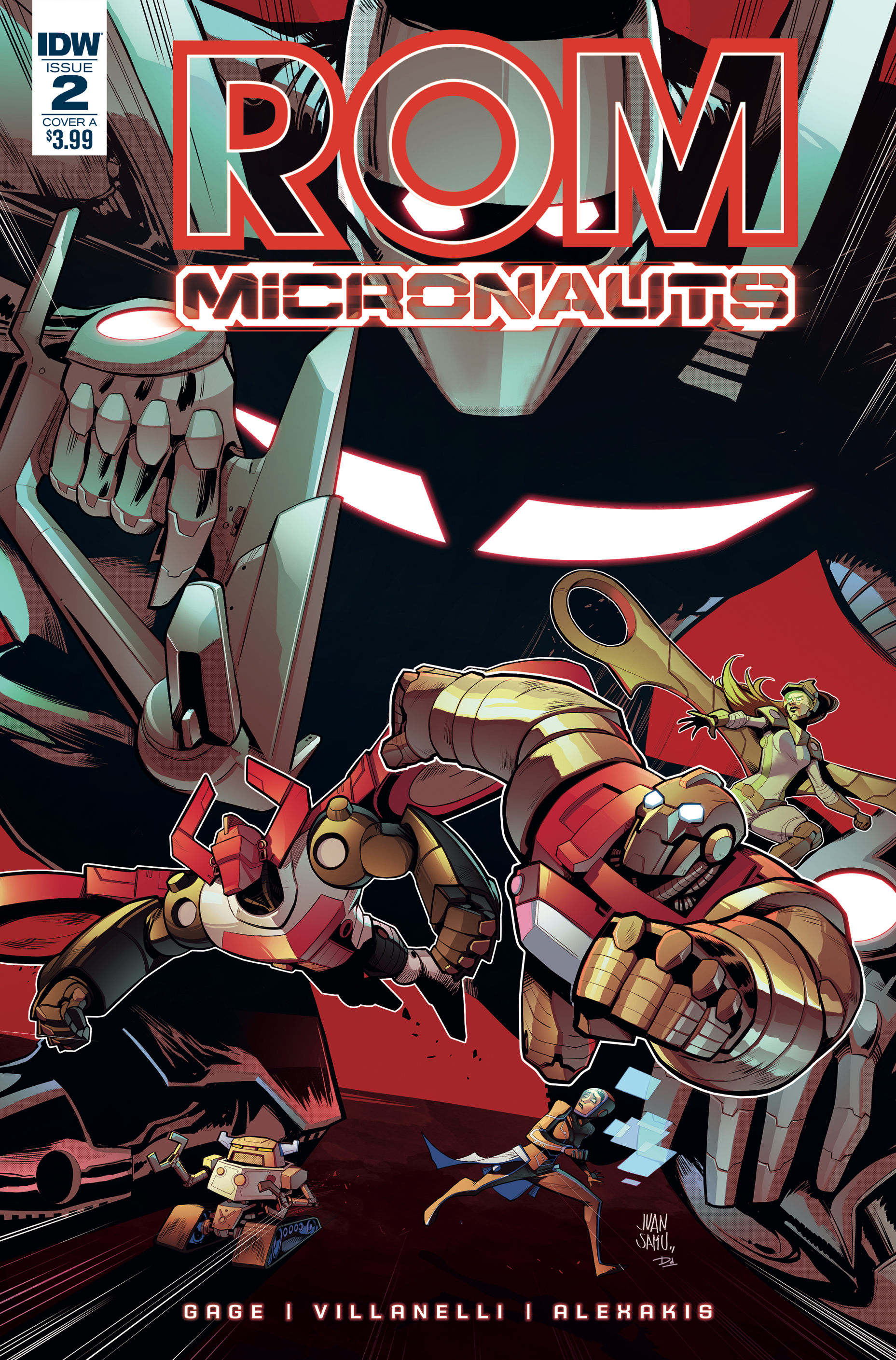 ROM & THE MICRONAUTS #2 (OF 5) CVR A SAMU