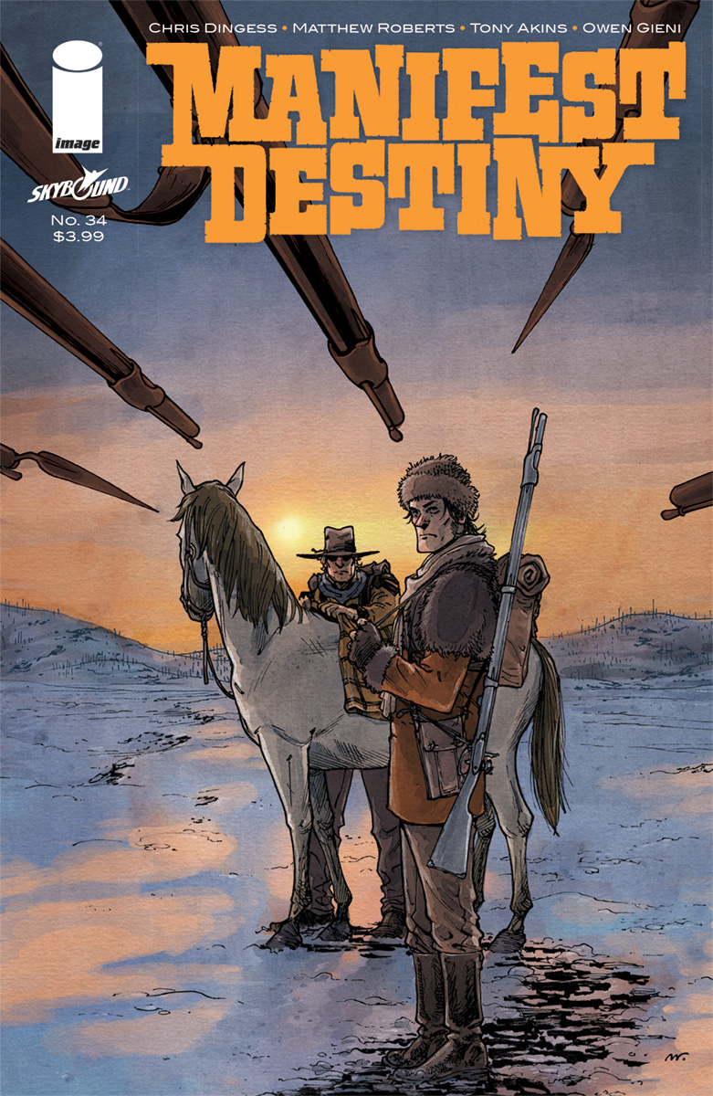 MANIFEST DESTINY #34 (MR)