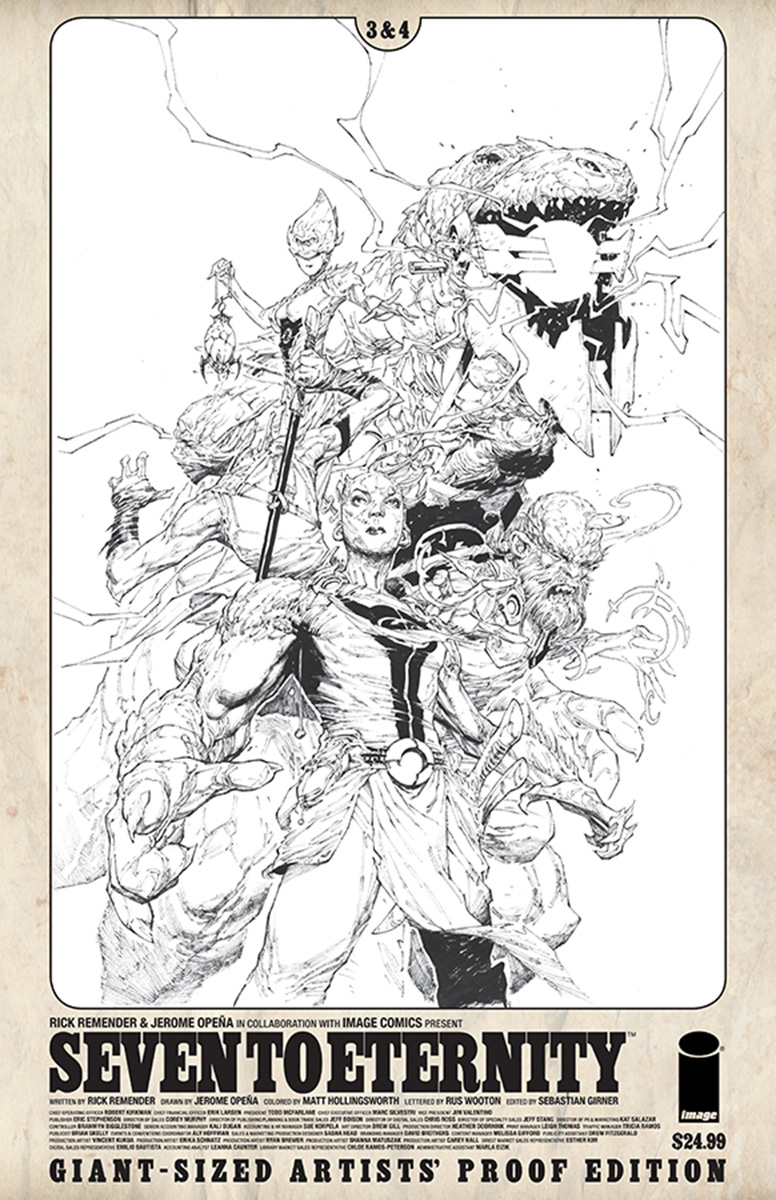 IMAGE GIANT SIZED ARTIST PROOF SEVEN TO ETERNITY #2