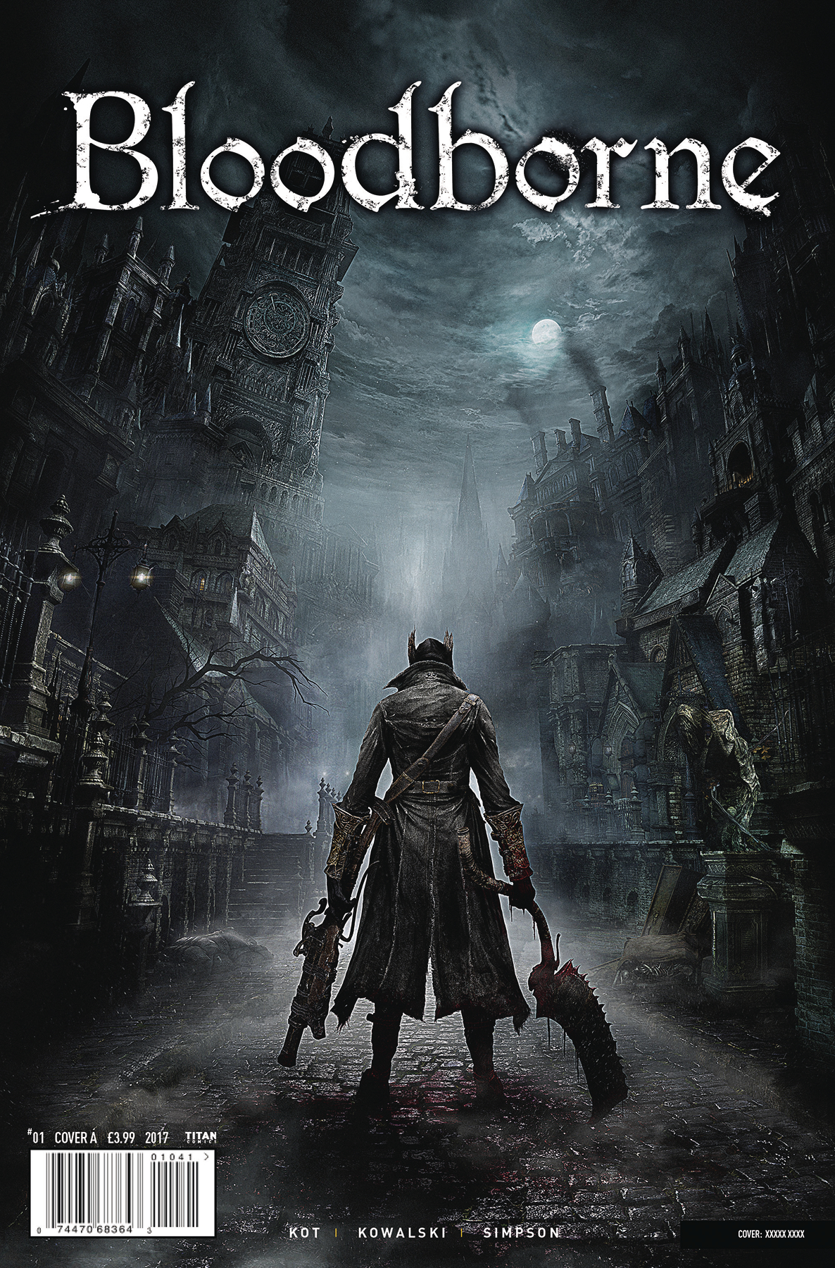 BLOODBORNE #1 (OF 4) CVR B GAME VAR (MR)