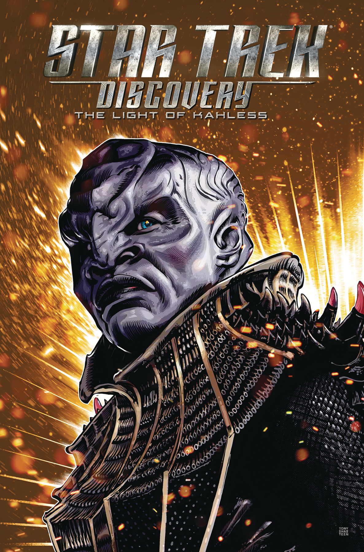 STAR TREK DISCOVERY TP LIGHT OF KAHLESS