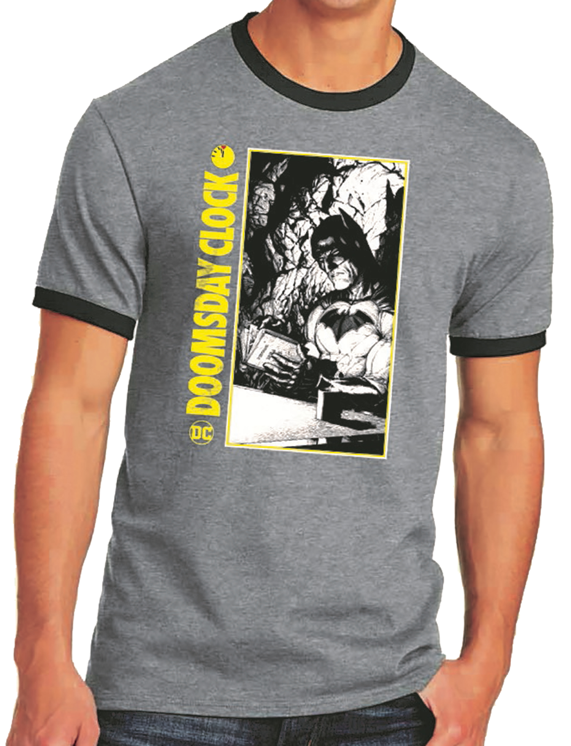 BATMAN DOOMSDAY CLOCK RINGER T/S XXL