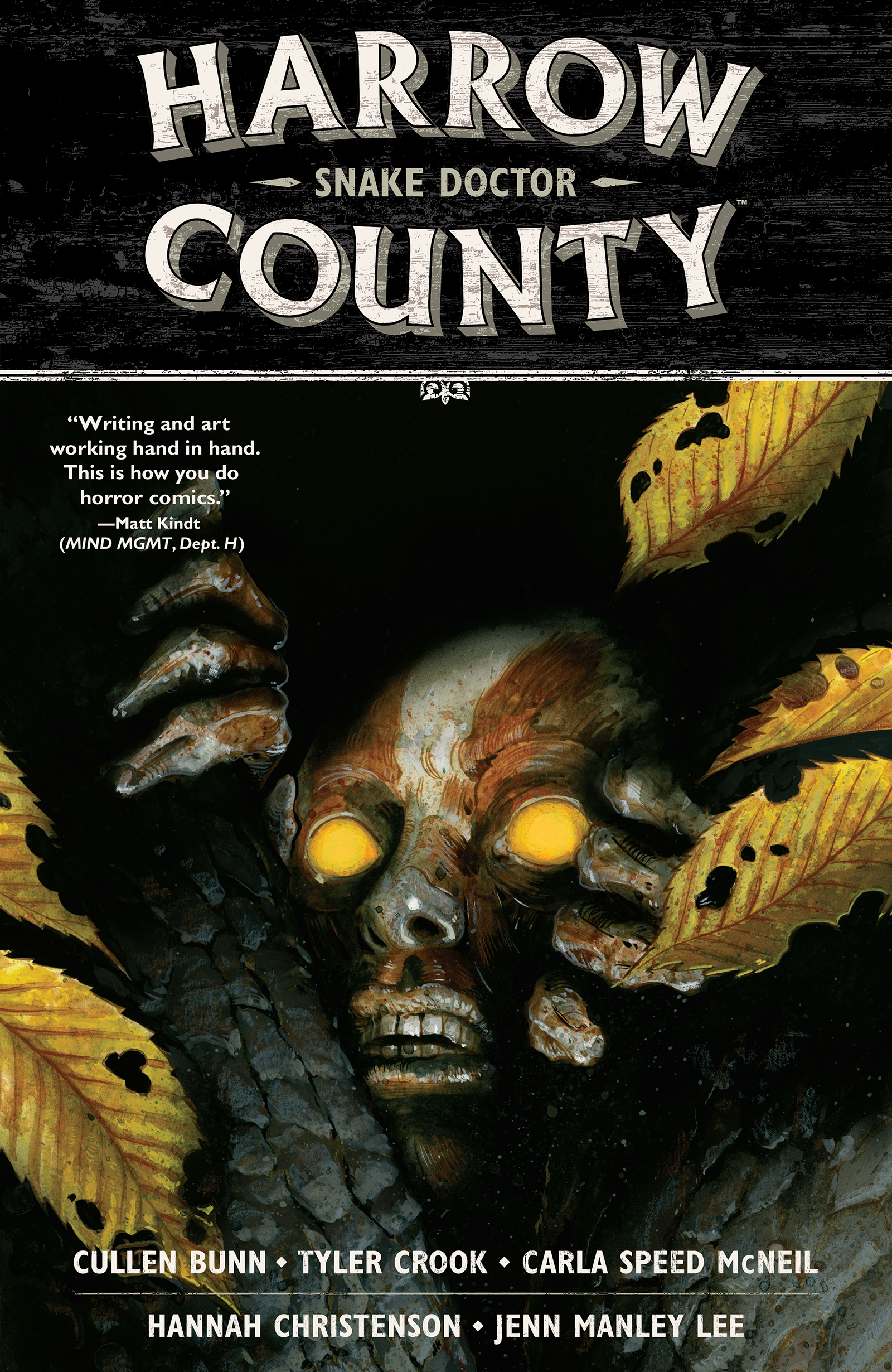 HARROW COUNTY TP VOL 03 SNAKE DOCTOR NEW PTG