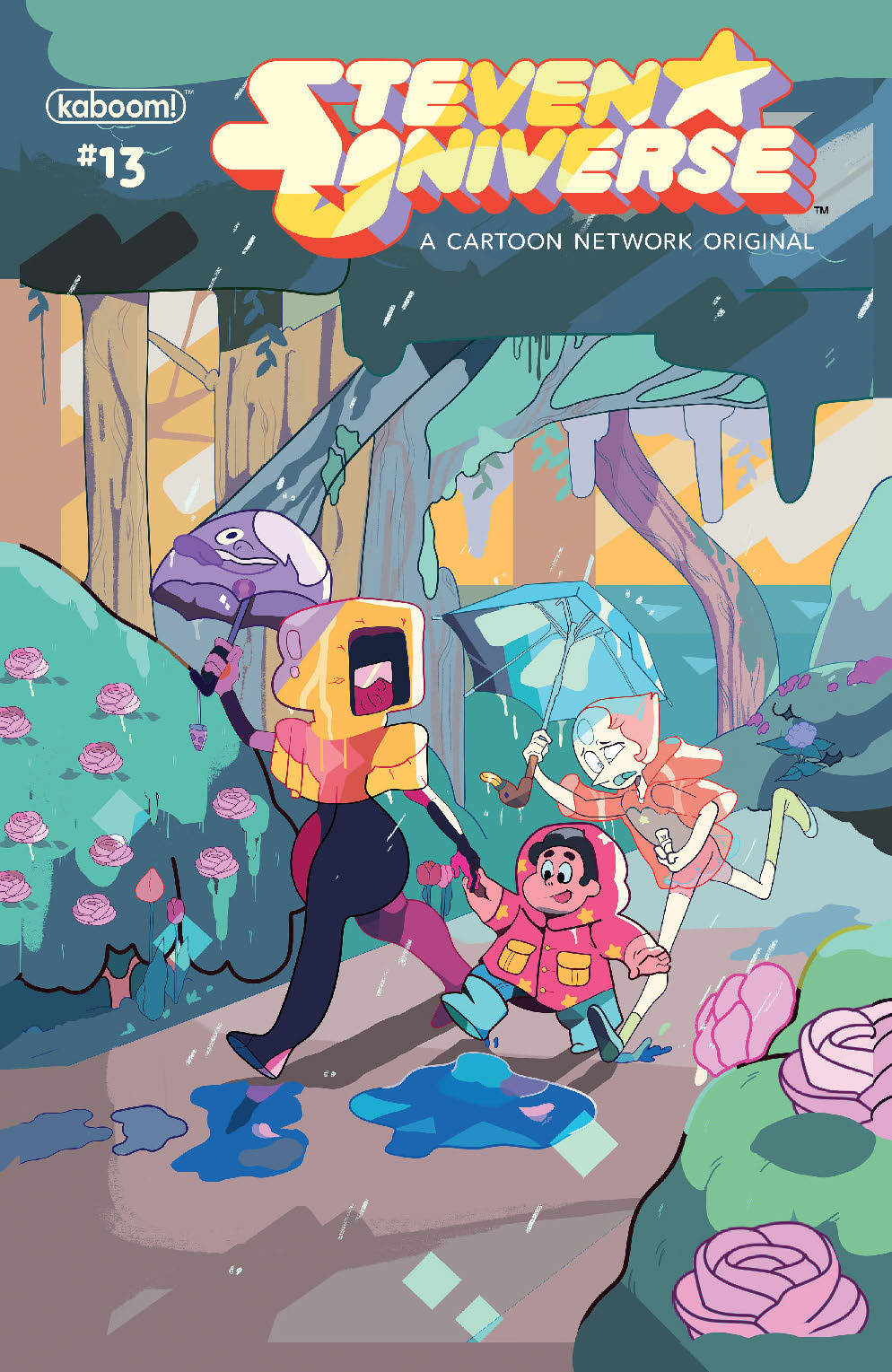 STEVEN UNIVERSE ONGOING #13 SUBSCRIPTION MOSLEY VAR