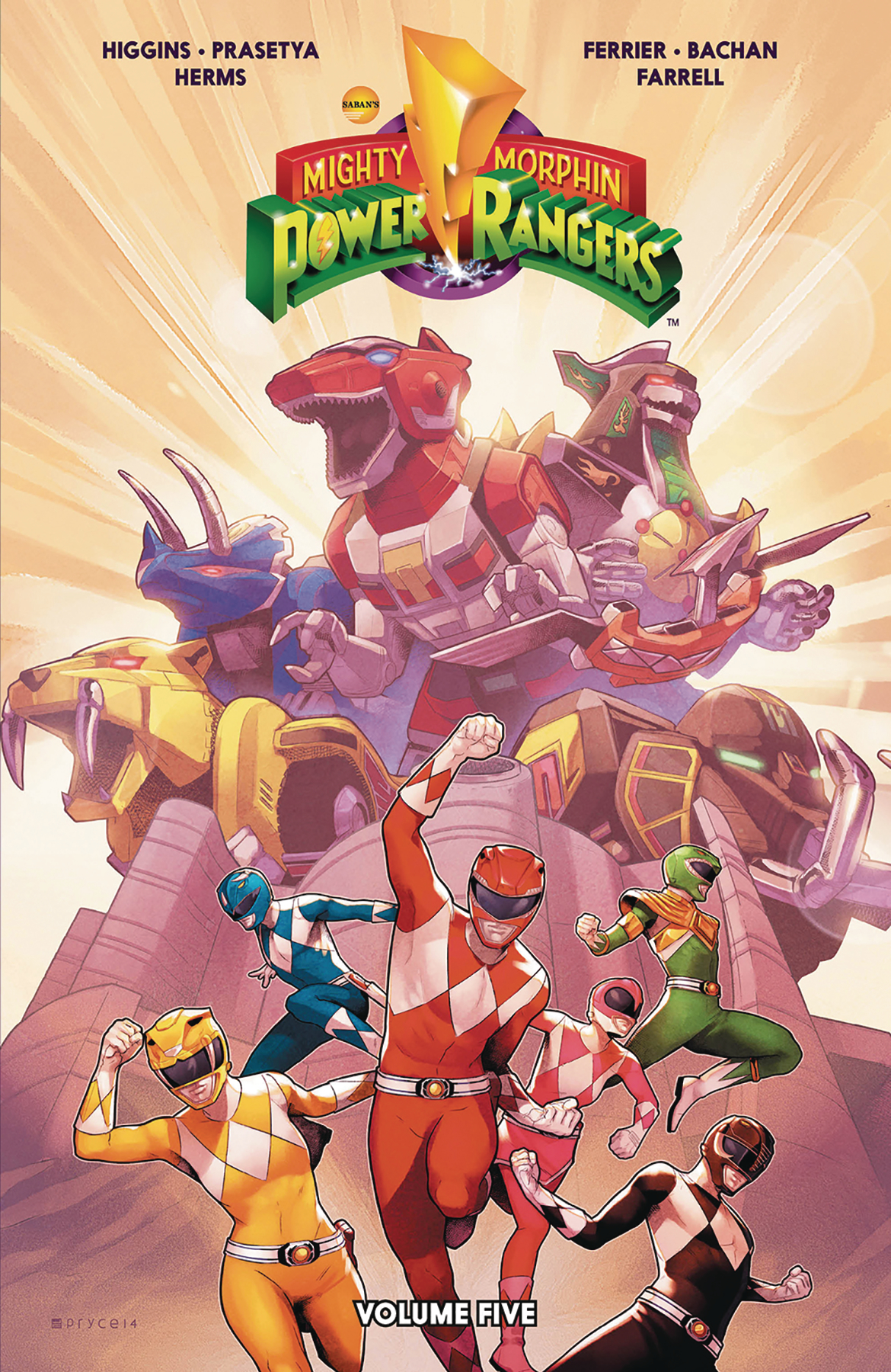 MIGHTY MORPHIN POWER RANGERS TP VOL 05