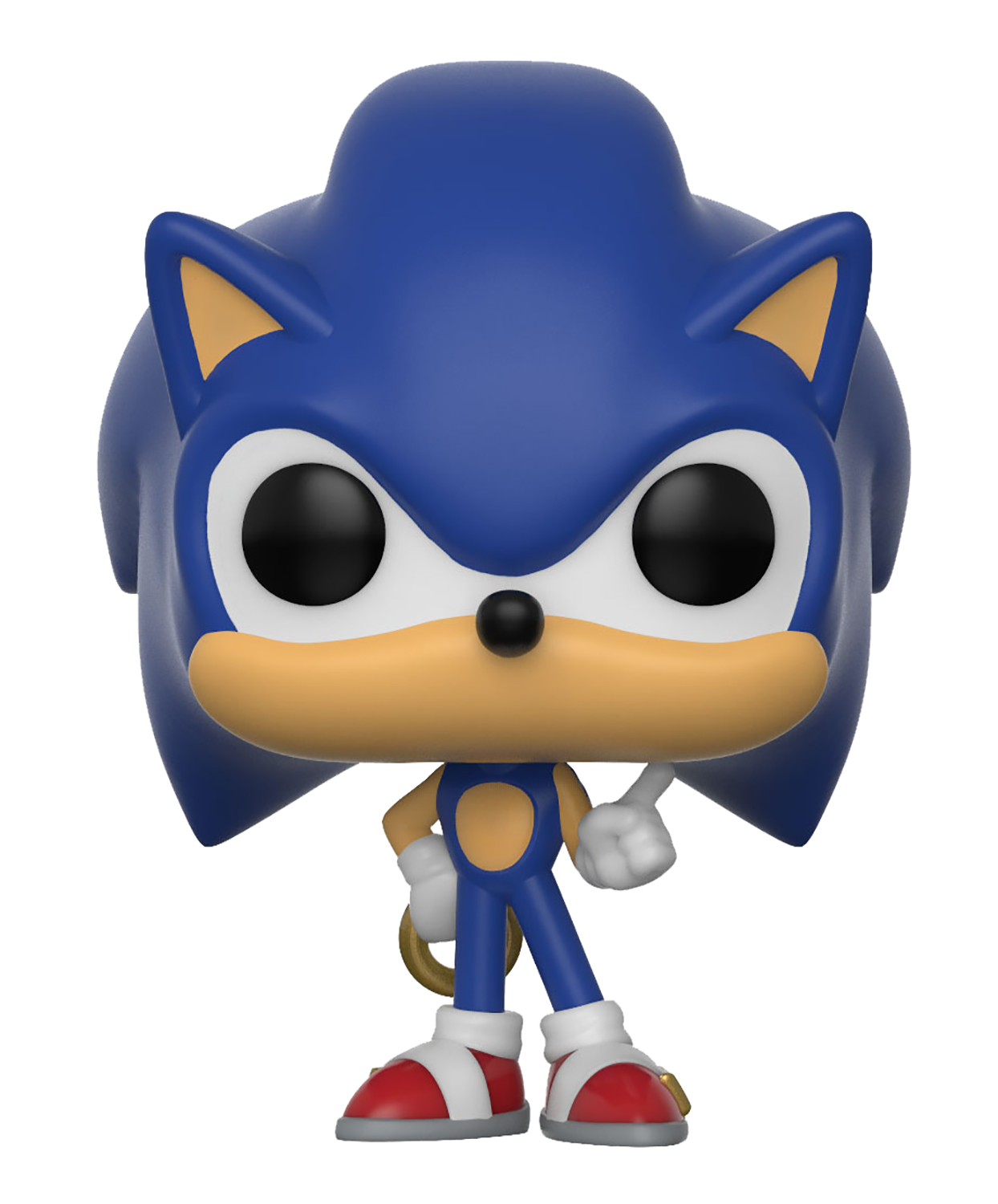 POCKET POP SONIC THE HEDGEHOG SONIC W/RING VIN FIG KEYCHAIN