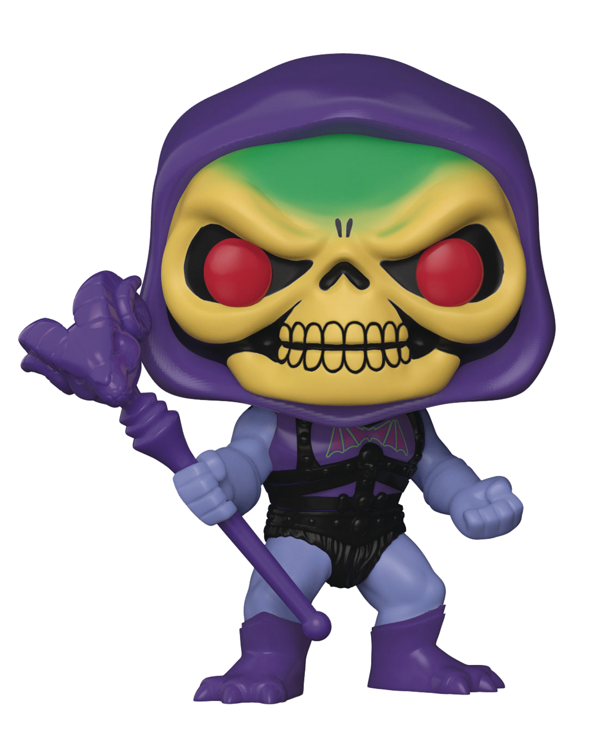 POP MASTERS OF THE UNIVERSE SKELETOR W/BATTLE ARMOR VIN FIG