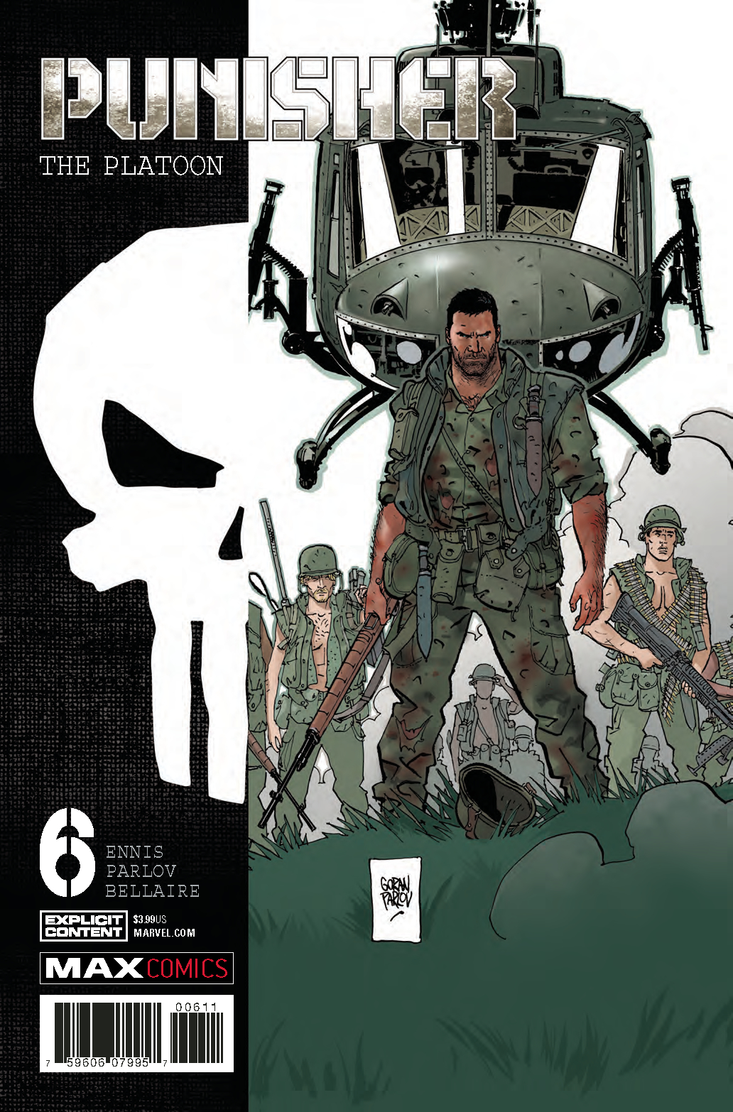 PUNISHER PLATOON #6 (OF 6) (MR)