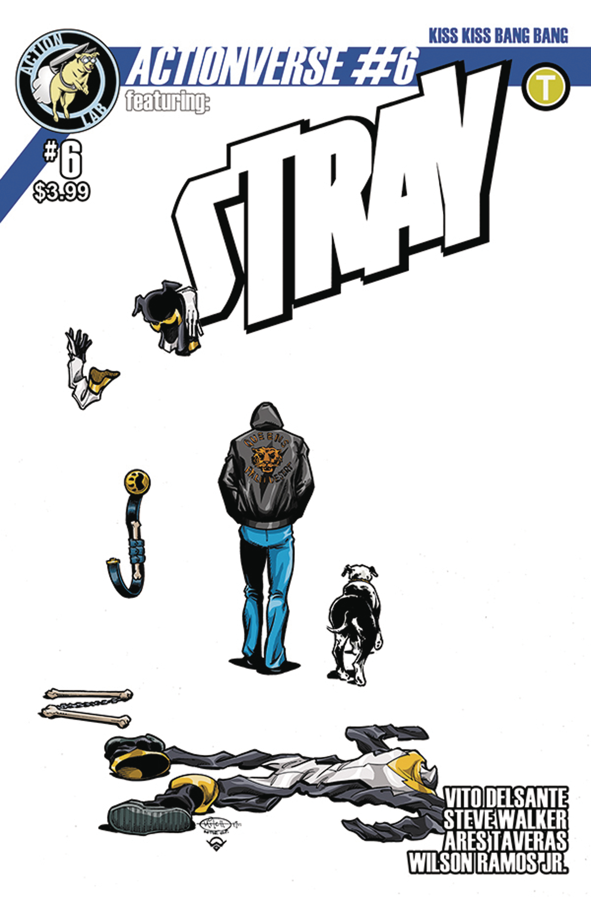 ACTIONVERSE ONGOING #6 STRAY CVR A BALLARD RAMOS JR
