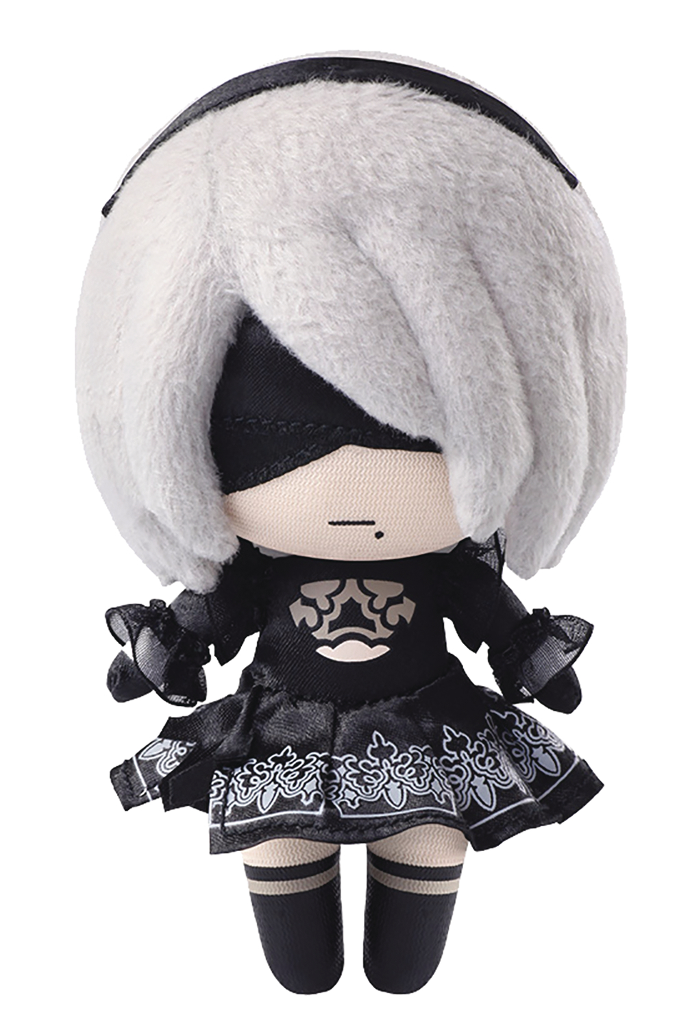 NIER AUTOMATA 2B MINI PLUSH (O/A)