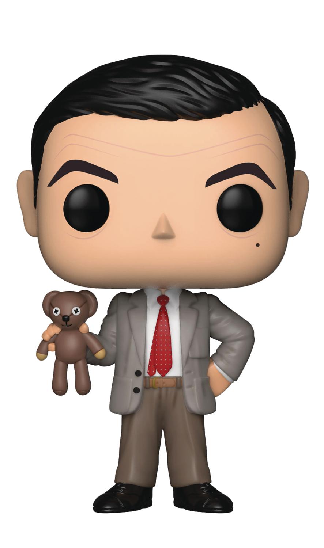 Sep178574 Pop Mr Bean Mr Bean Vinyl Figure Previews World