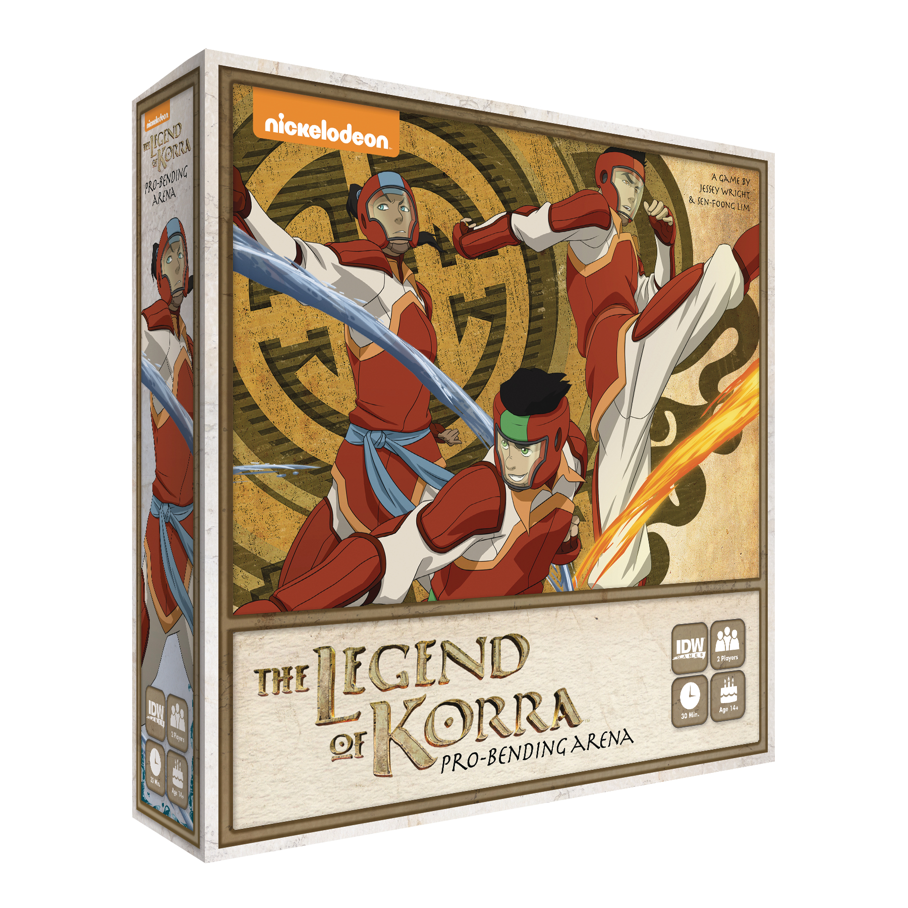 LEGEND OF KORRA PRO BENDING ARENA AMONS INVASION GAME