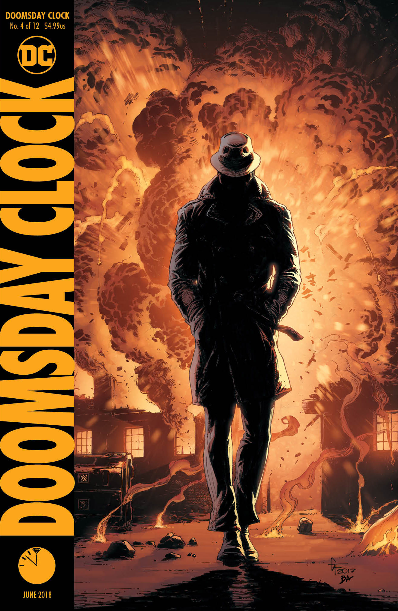 DOOMSDAY CLOCK #4 (OF 12) VAR ED
