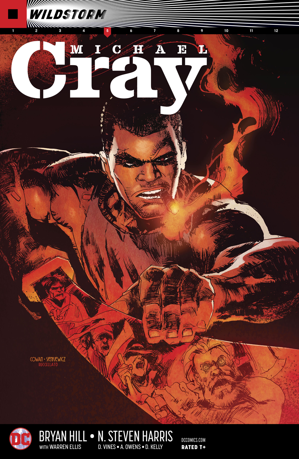 WILDSTORM MICHAEL CRAY #5