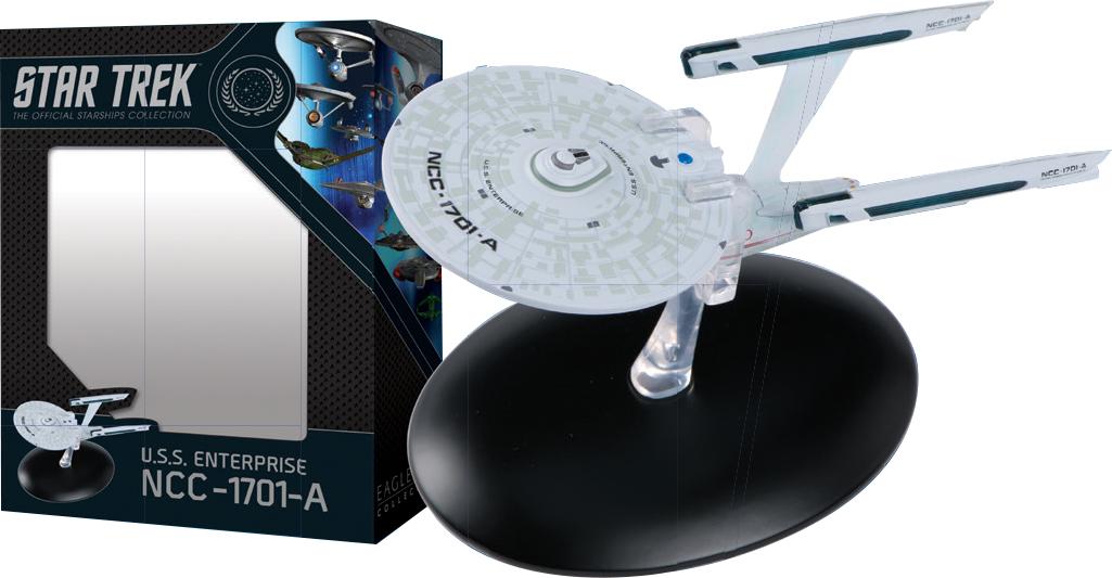 STAR TREK STARSHIPS BEST OF FIG #12 USS ENTERPRISE NCC 1701A