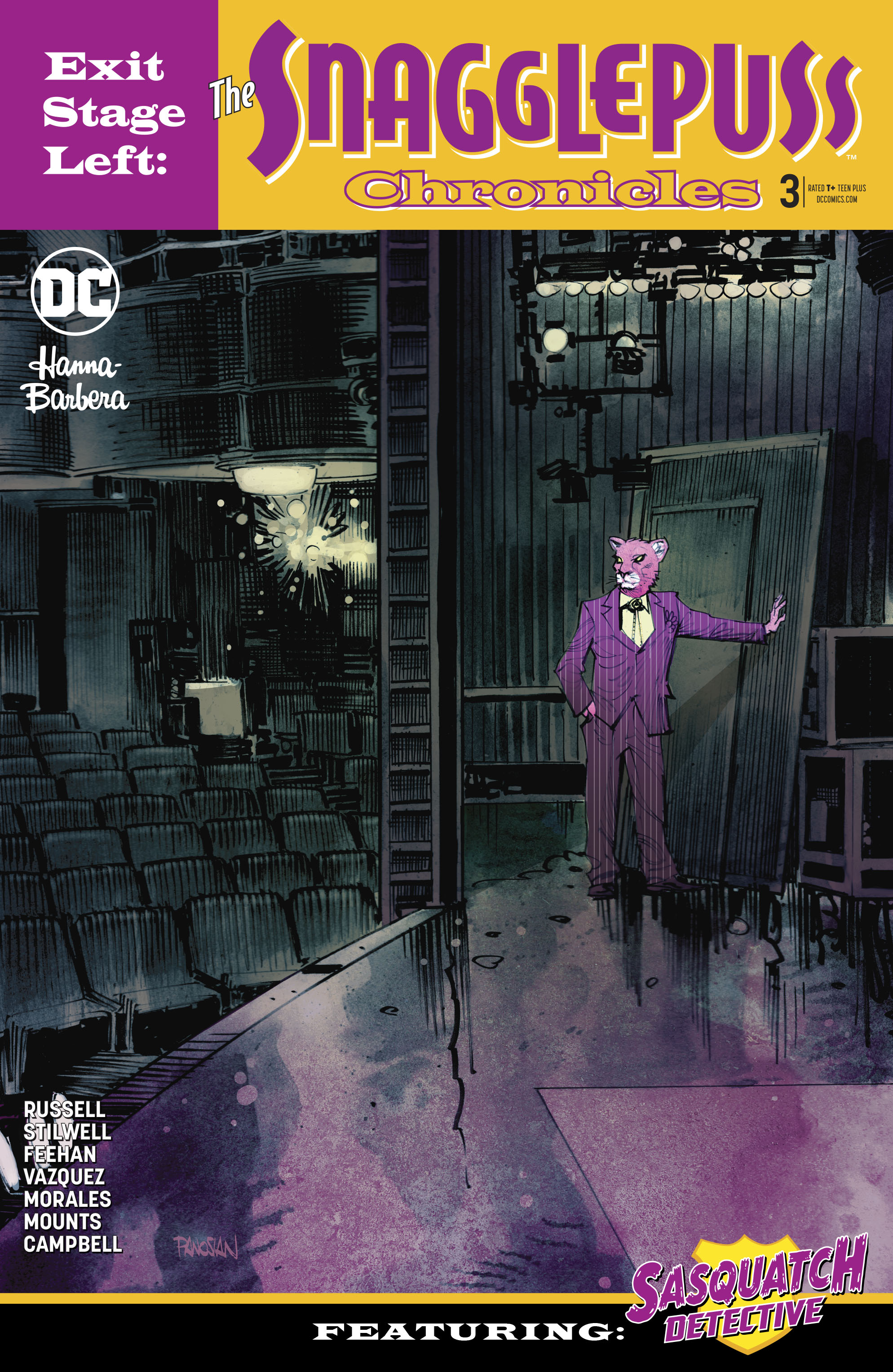 EXIT STAGE LEFT THE SNAGGLEPUSS CHRONICLES #3 (OF 6) VAR ED