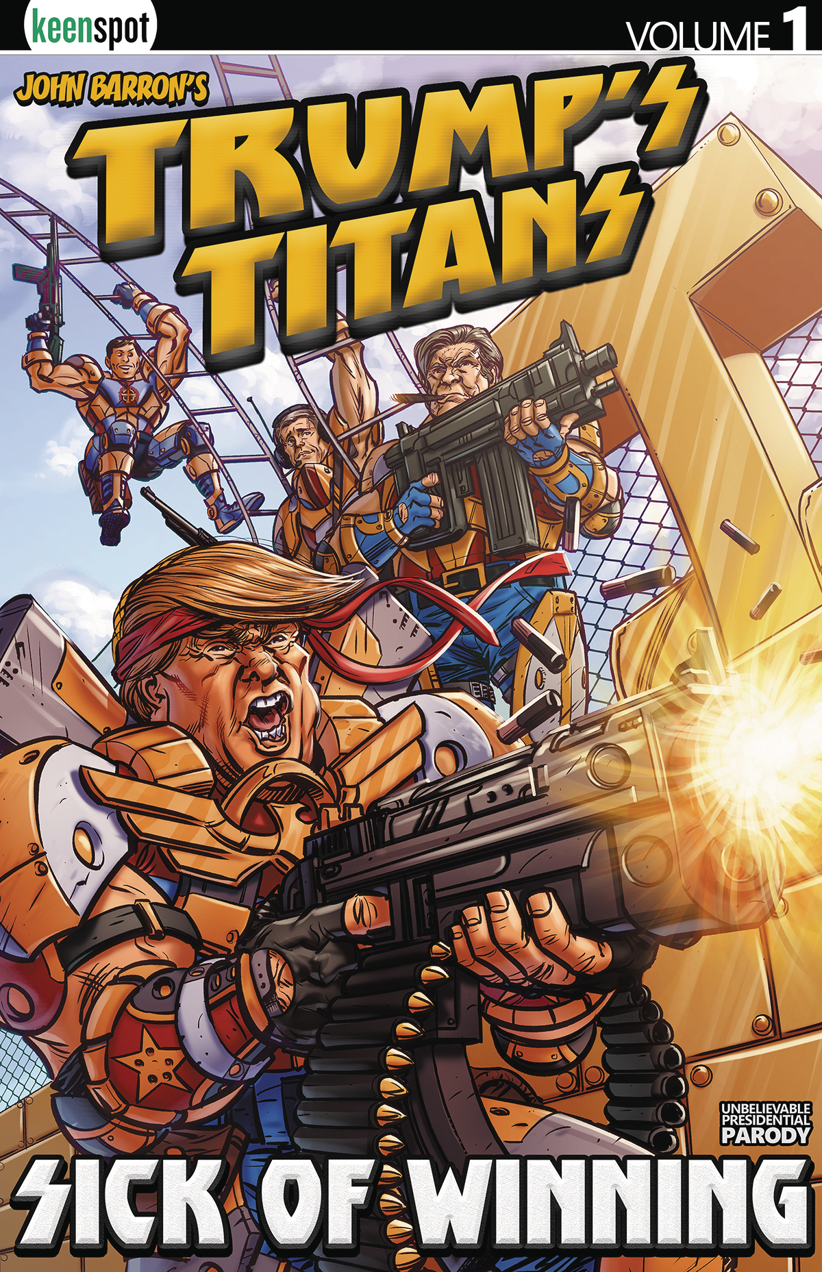 TRUMPS TITANS TP VOL 01 SICK OF WINNING (JAN181757) (MR)