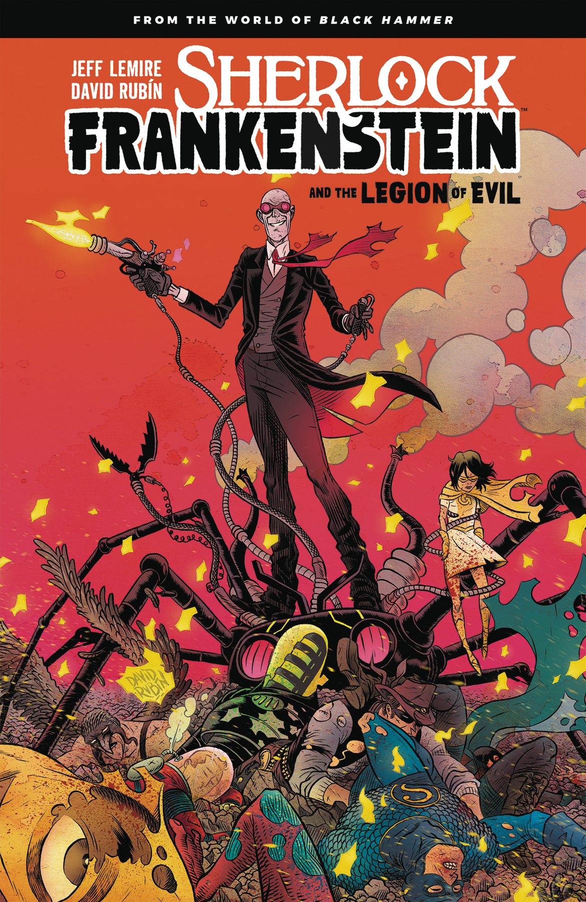 SHERLOCK FRANKENSTEIN LEGION OF EVIL FROM BLACK HAMMER TP (J