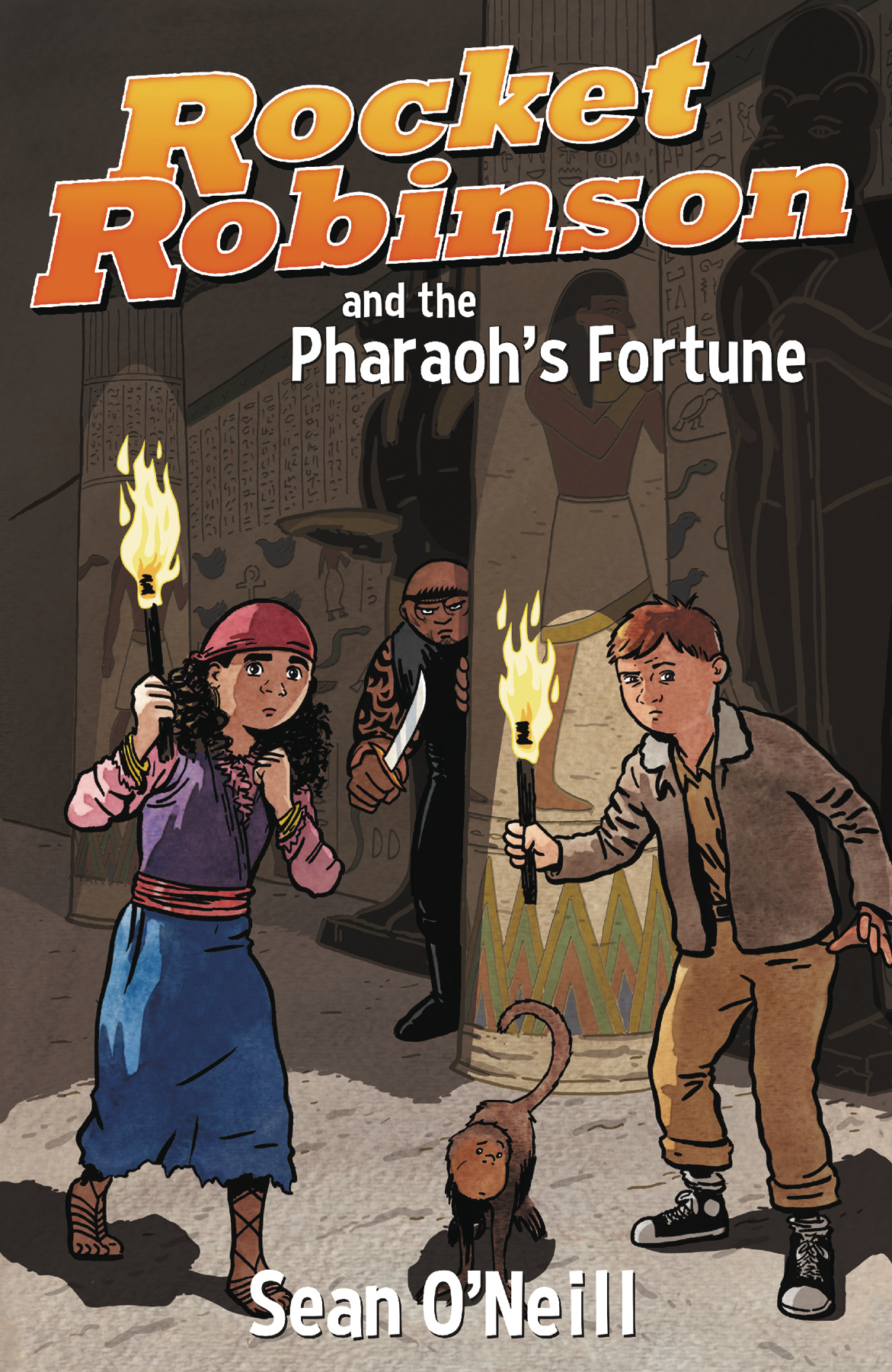 ROCKET ROBINSON & PHAROAHS FORTUNE GN VOL 01 (O/A)