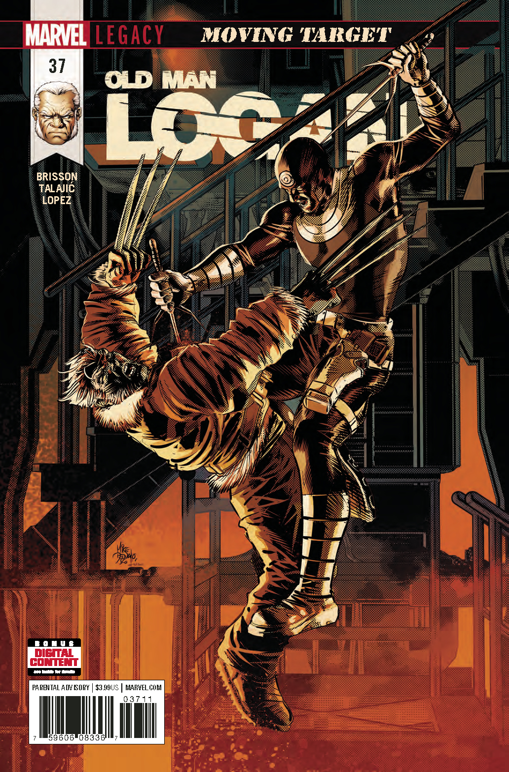 OLD MAN LOGAN #37 LEG