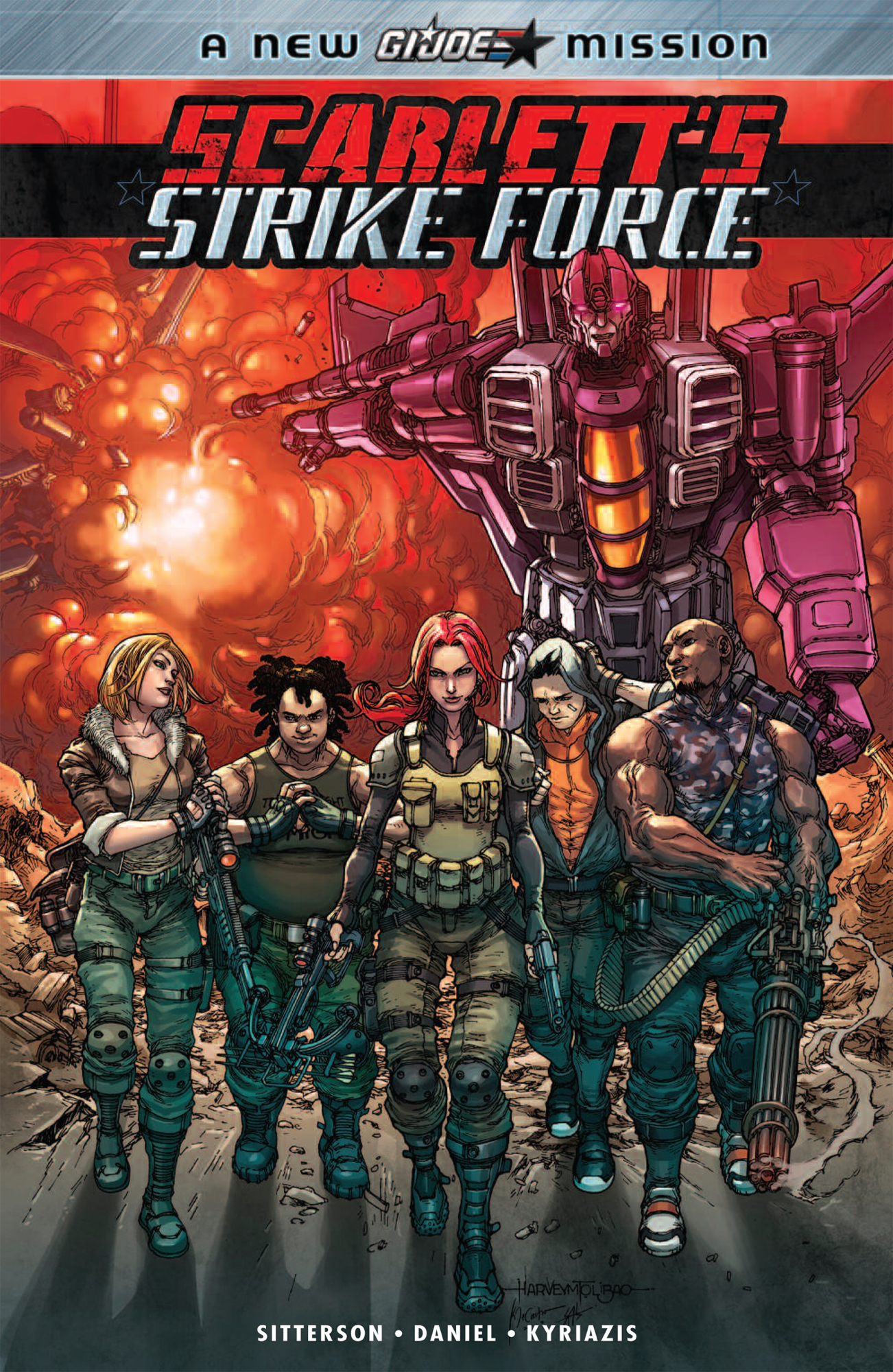 SCARLETTS STRIKE FORCE TP VOL 01
