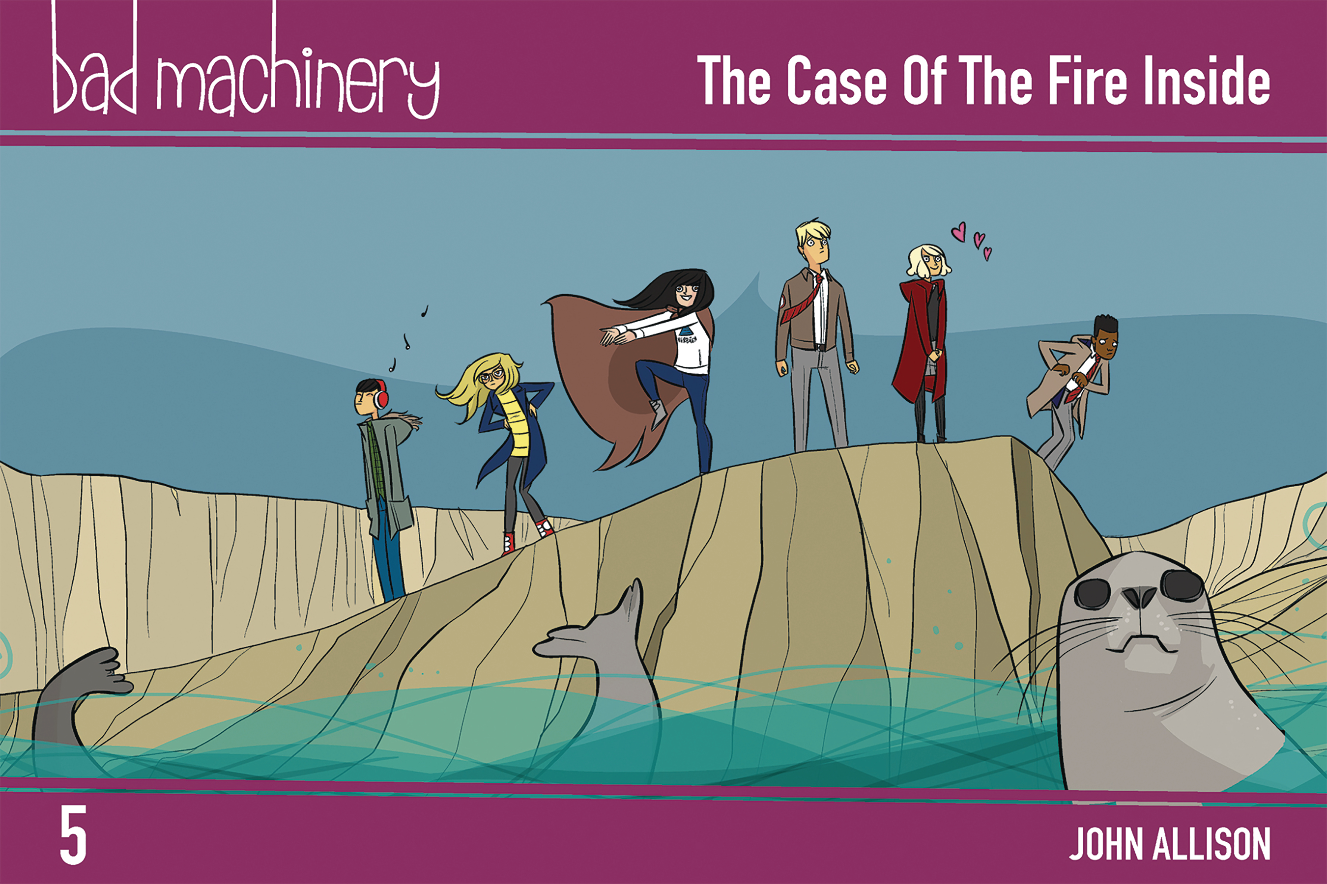 BAD MACHINERY POCKET ED GN VOL 05 CASE FIRE INSIDE
