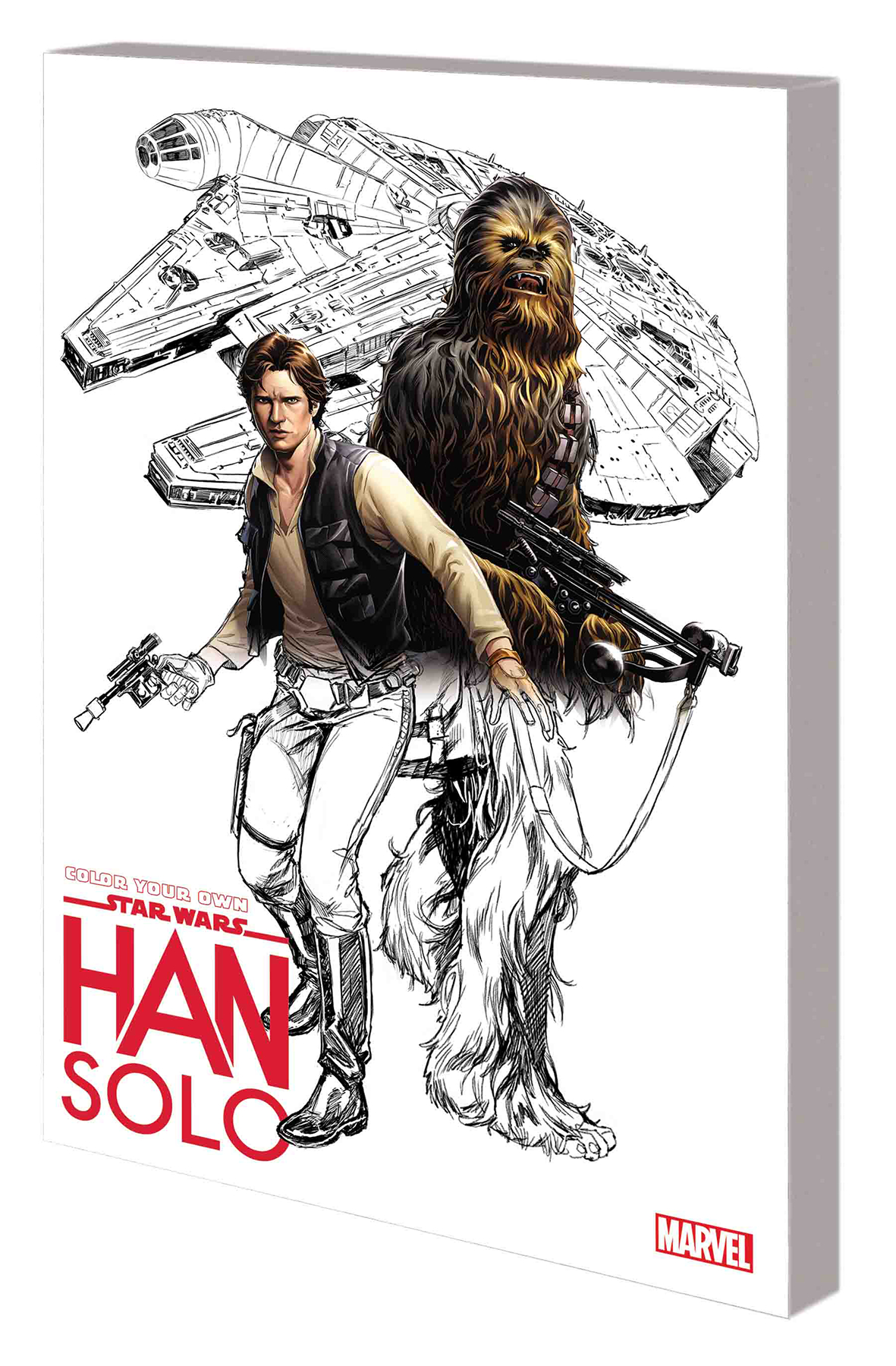 COLOR YOUR OWN STAR WARS HAN SOLO TP