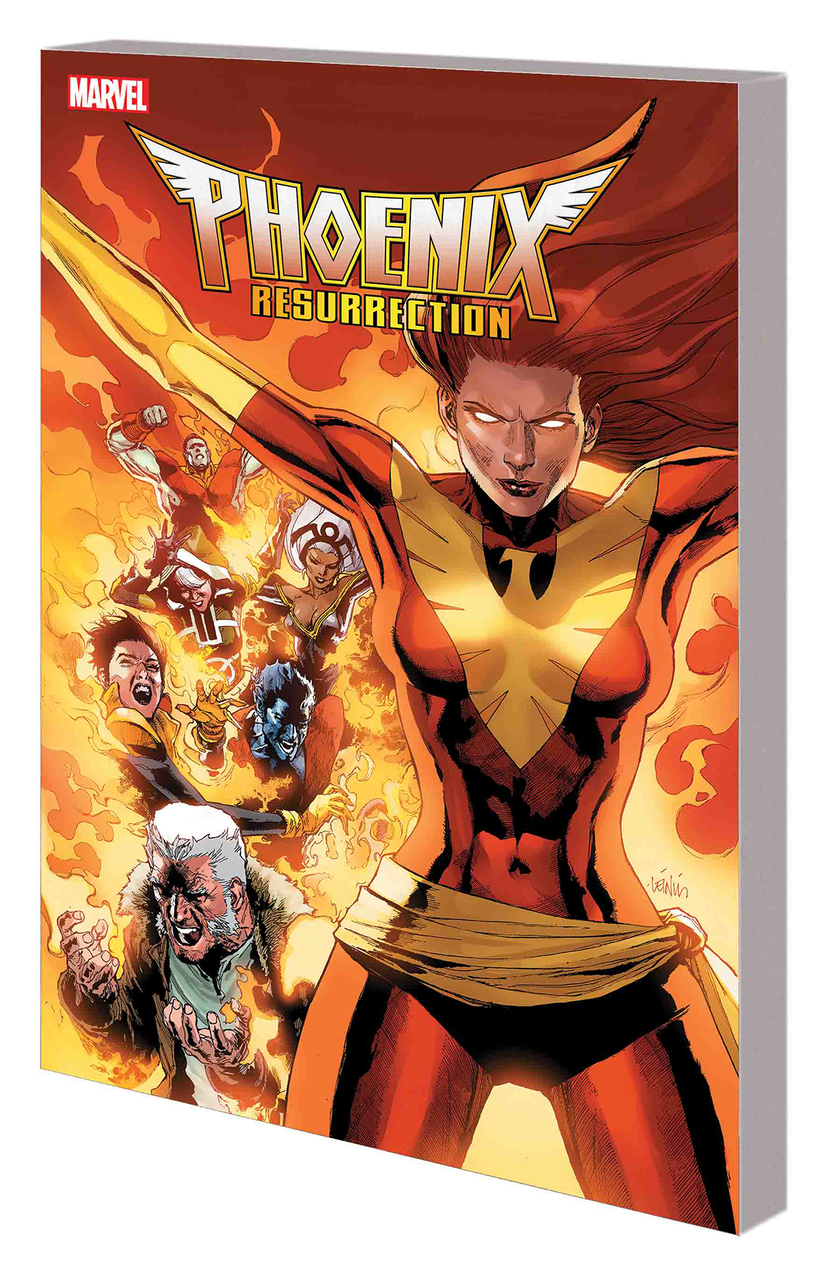 PHOENIX RESURRECTION RETURN JEAN GREY TP