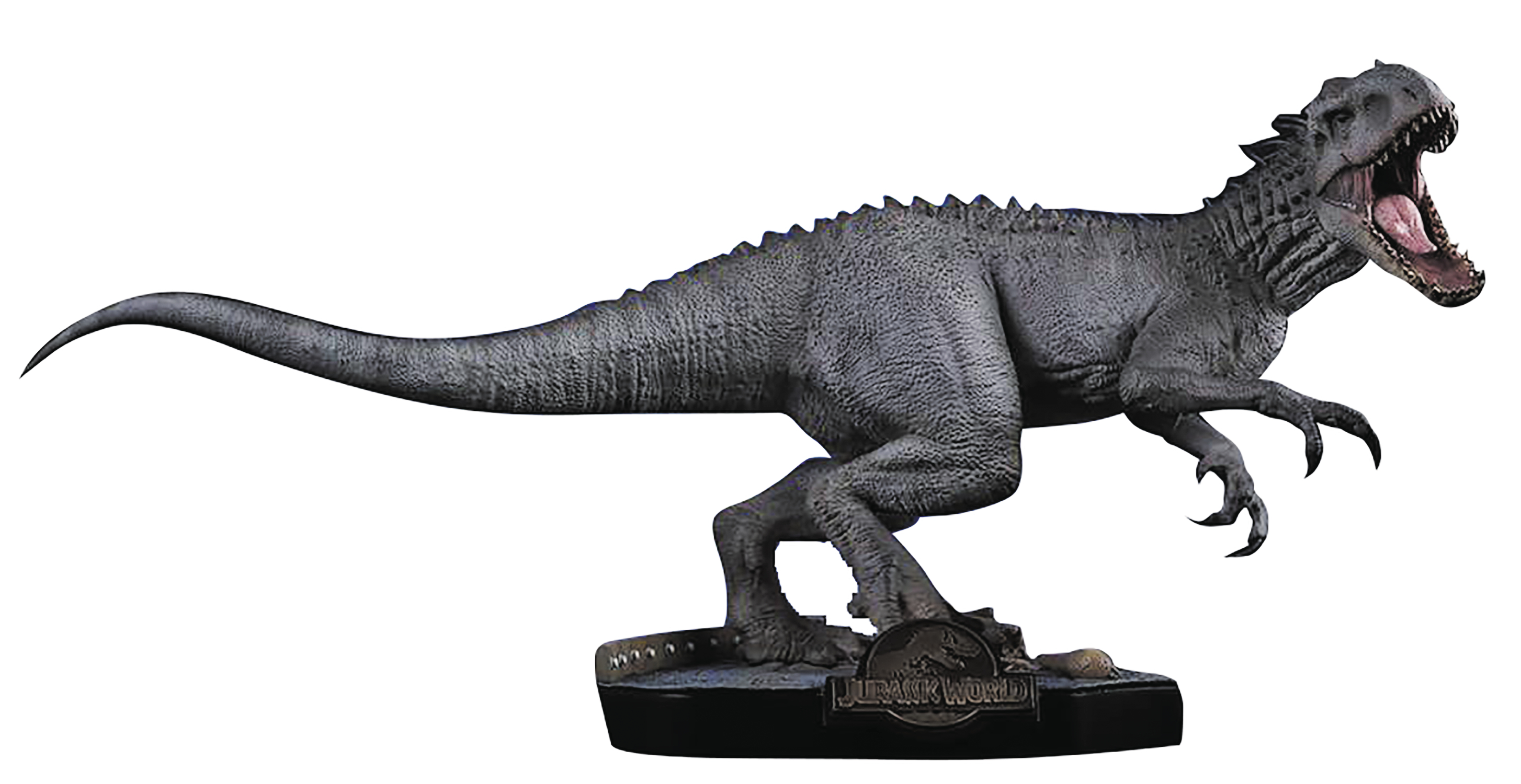 jan182458 chronicle jurassic world indominus rex 1 24 scale statue ne previews world. Black Bedroom Furniture Sets. Home Design Ideas
