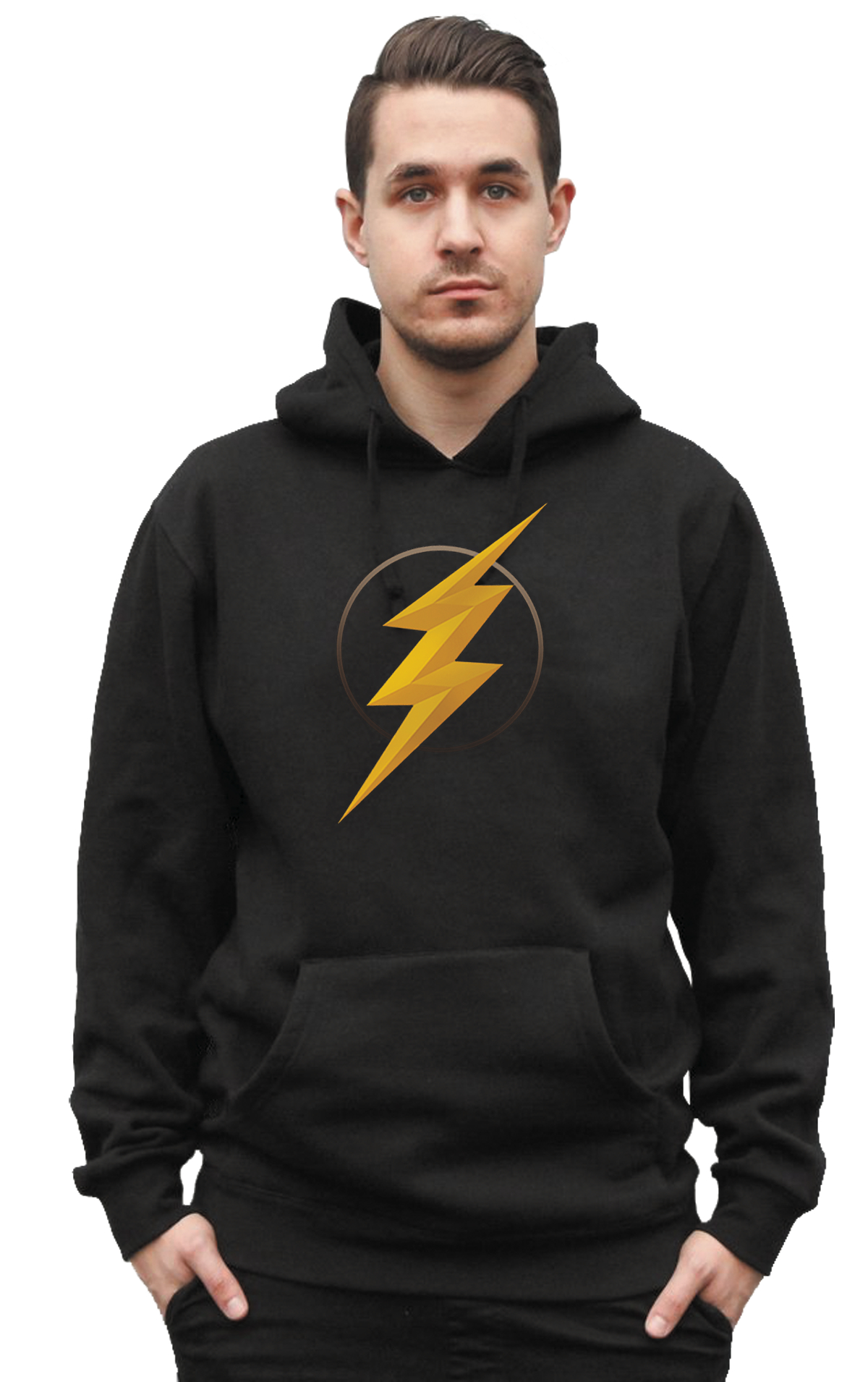 JUSTICE LEAGUE FLASH SYMBOL II HOODIE XL