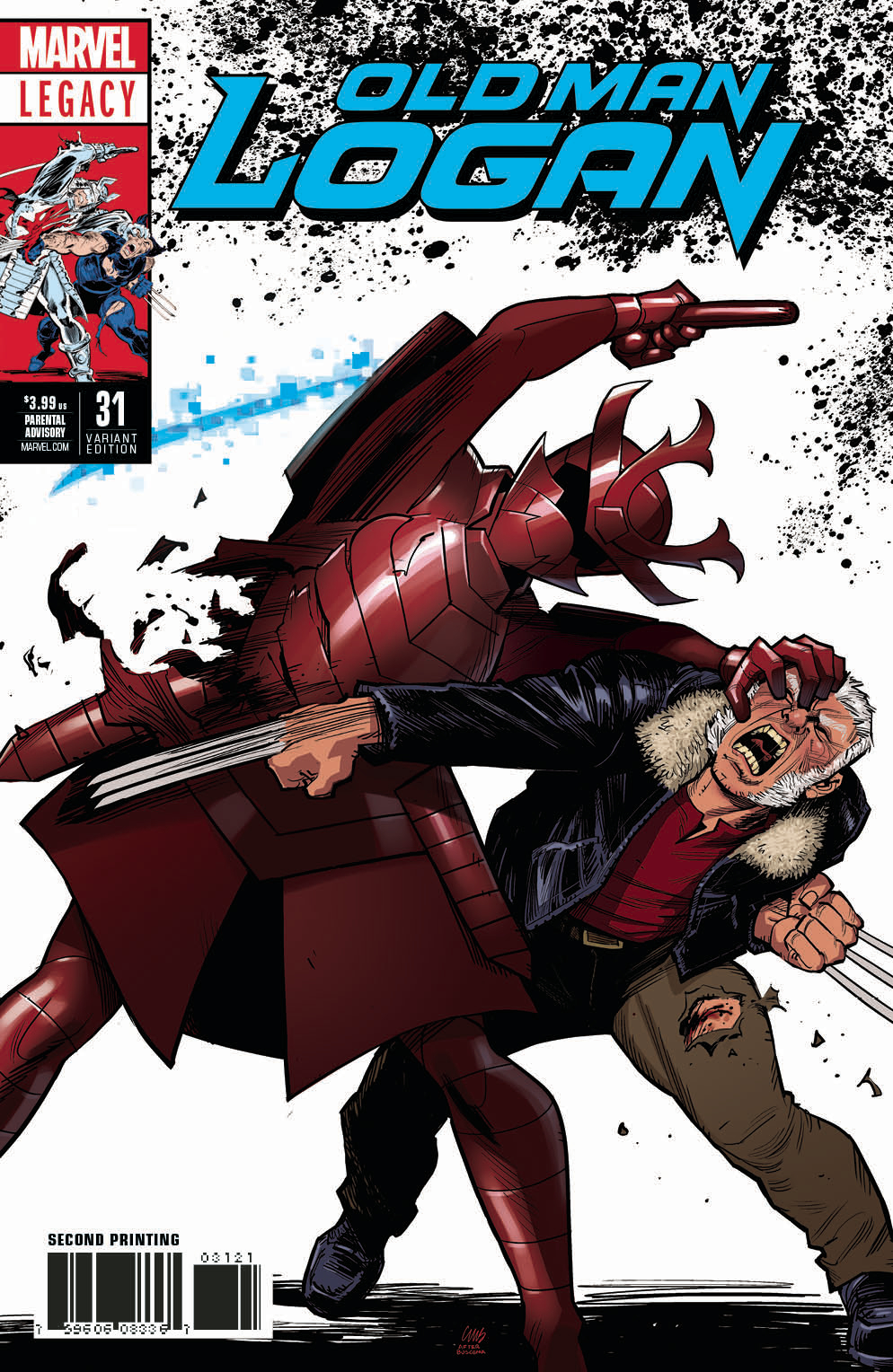 OLD MAN LOGAN #31 2ND PTG STEWART VAR LEG