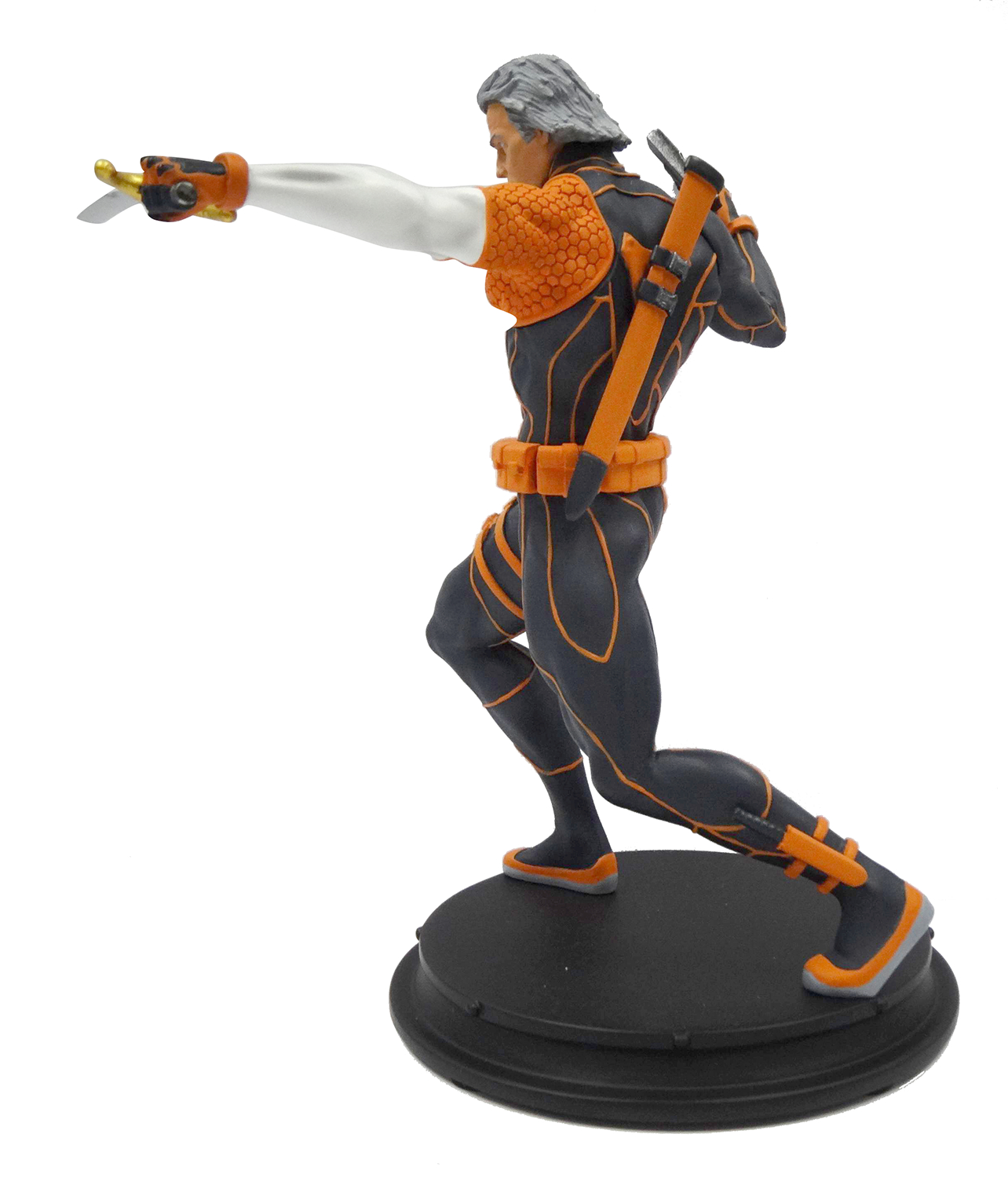 DC COMICS REBIRTH DEATHSTROKE UNMASKED PX STATUE