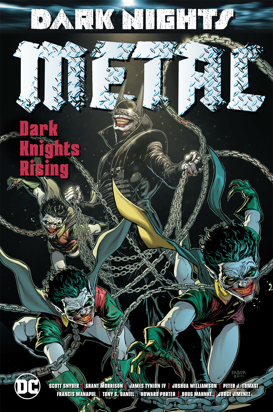 DARK NIGHTS METAL DARK KNIGHTS RISING HC
