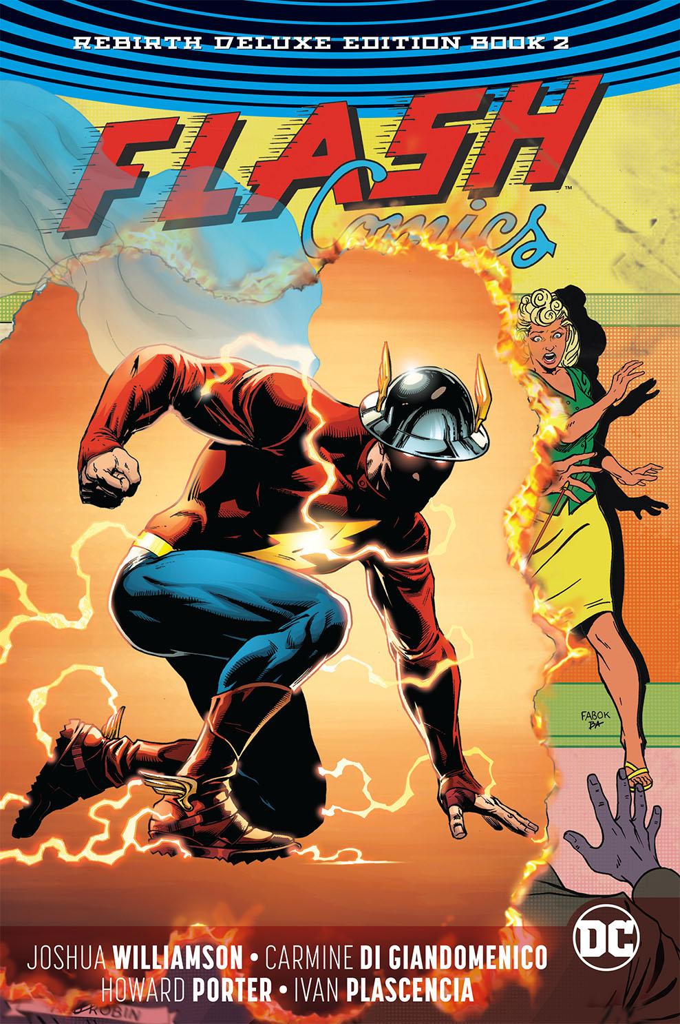 FLASH REBIRTH DLX COLL HC BOOK 02