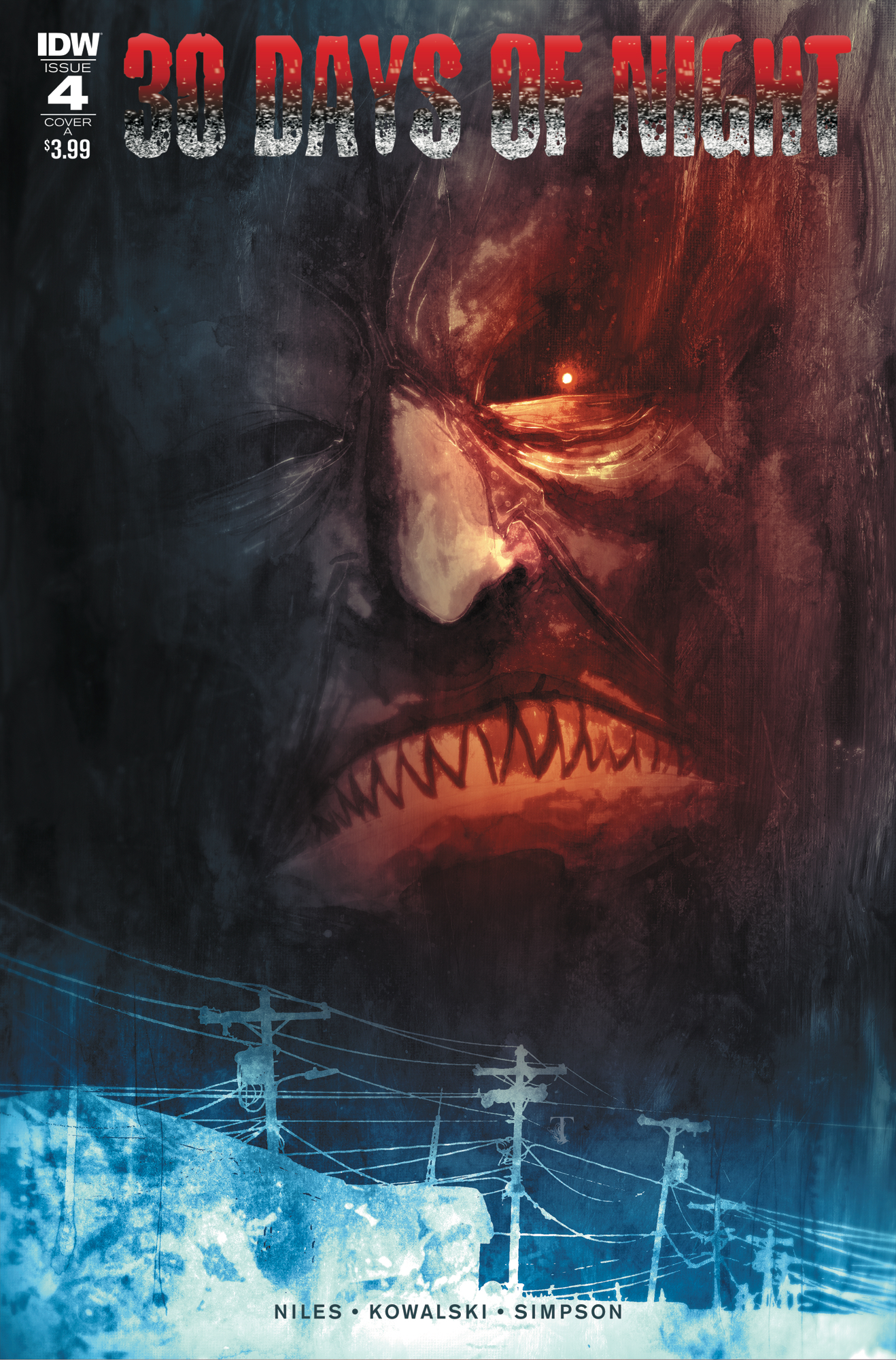 30 DAYS OF NIGHT #4 (OF 6) CVR A TEMPLESMITH
