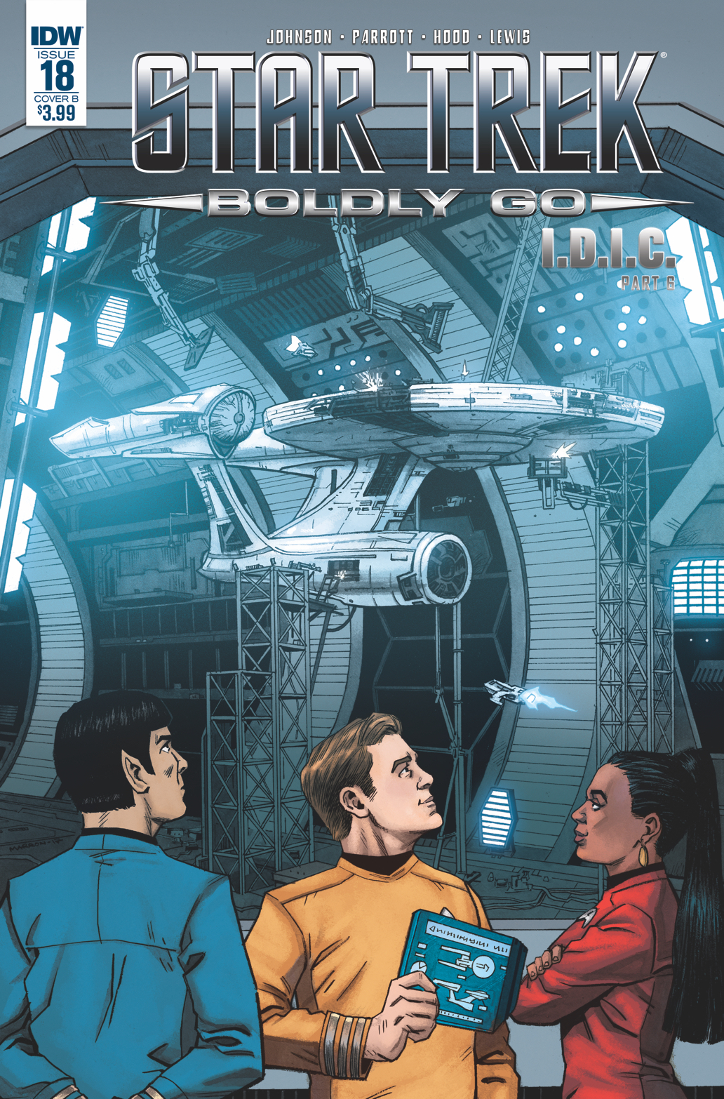 STAR TREK BOLDLY GO #18 CVR B MARRON