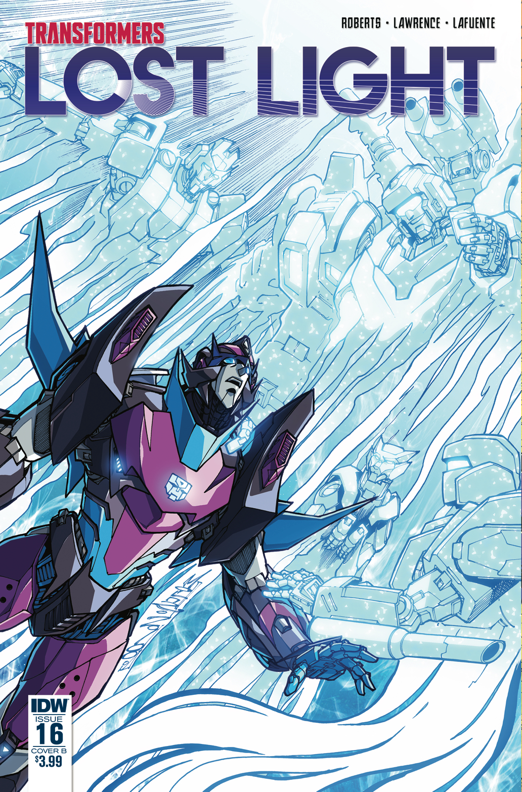 TRANSFORMERS LOST LIGHT #16 CVR B MILNE