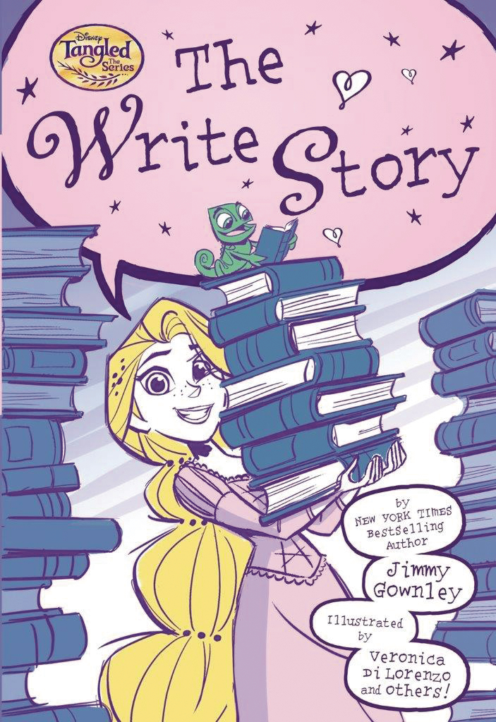 DISNEY TANGLED THE SERIES GN VOL 02 WRITE STORY (RES)