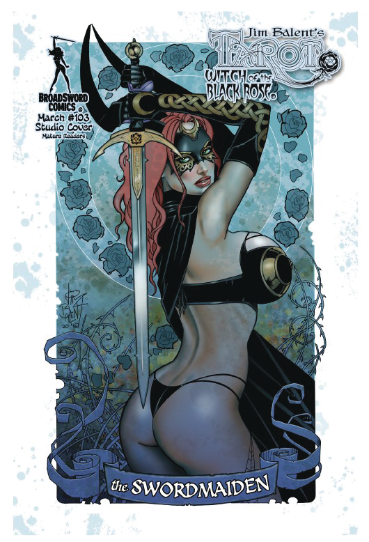 TAROT WITCH OF THE BLACK ROSE #103 STUDIO DELUXE ED (MR)