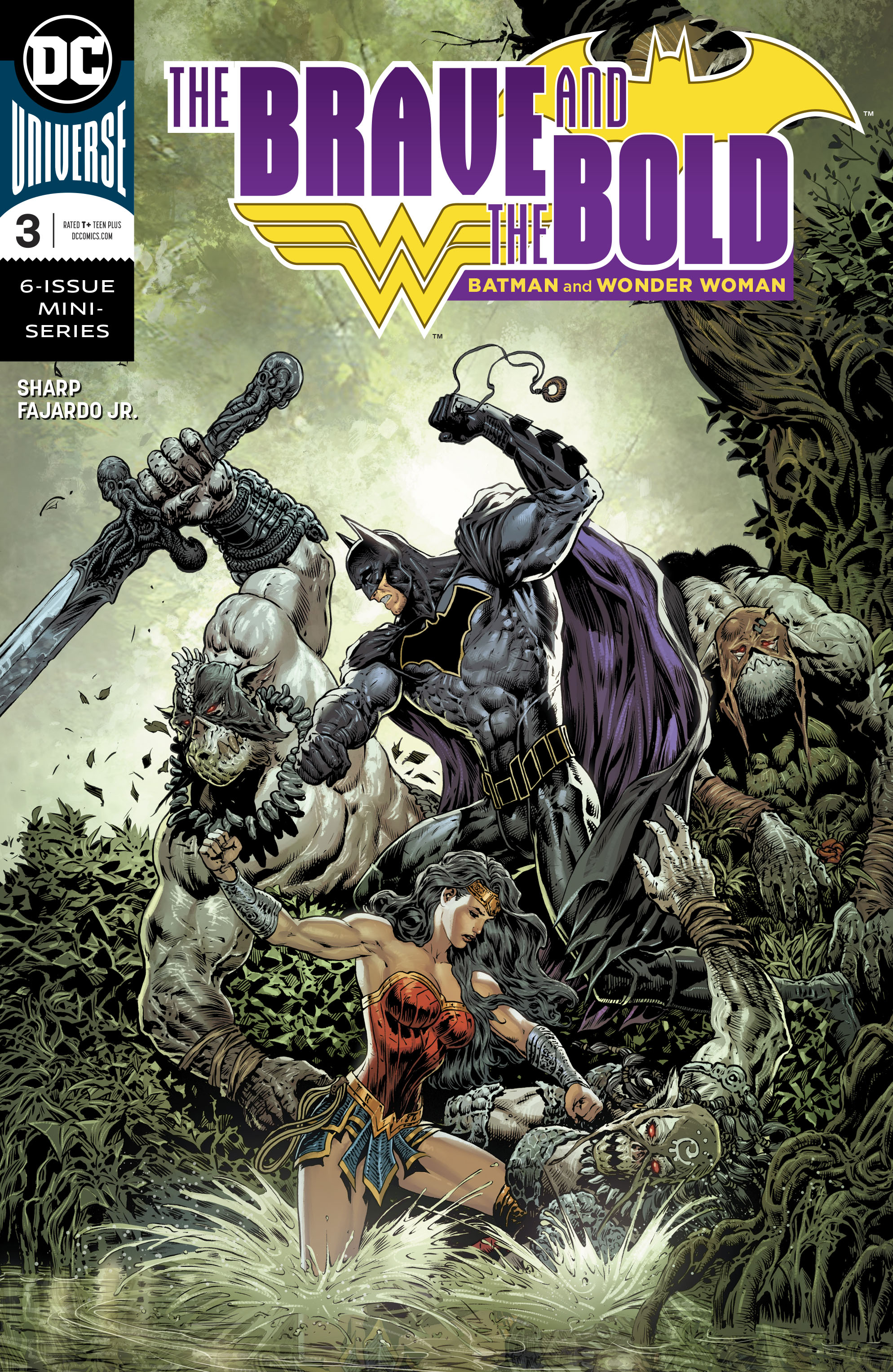 BRAVE & THE BOLD BATMAN & WONDER WOMAN #3 (OF 6)