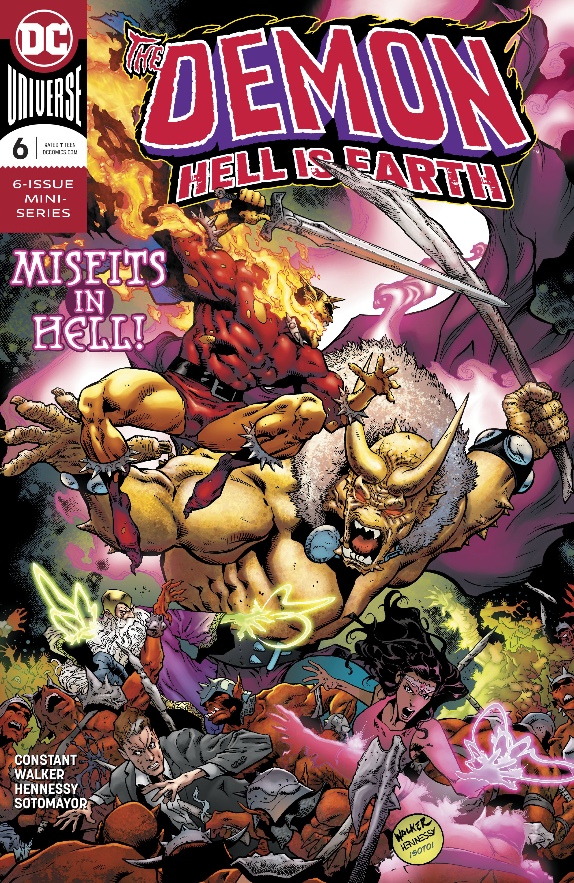 DEMON HELL IS EARTH #6