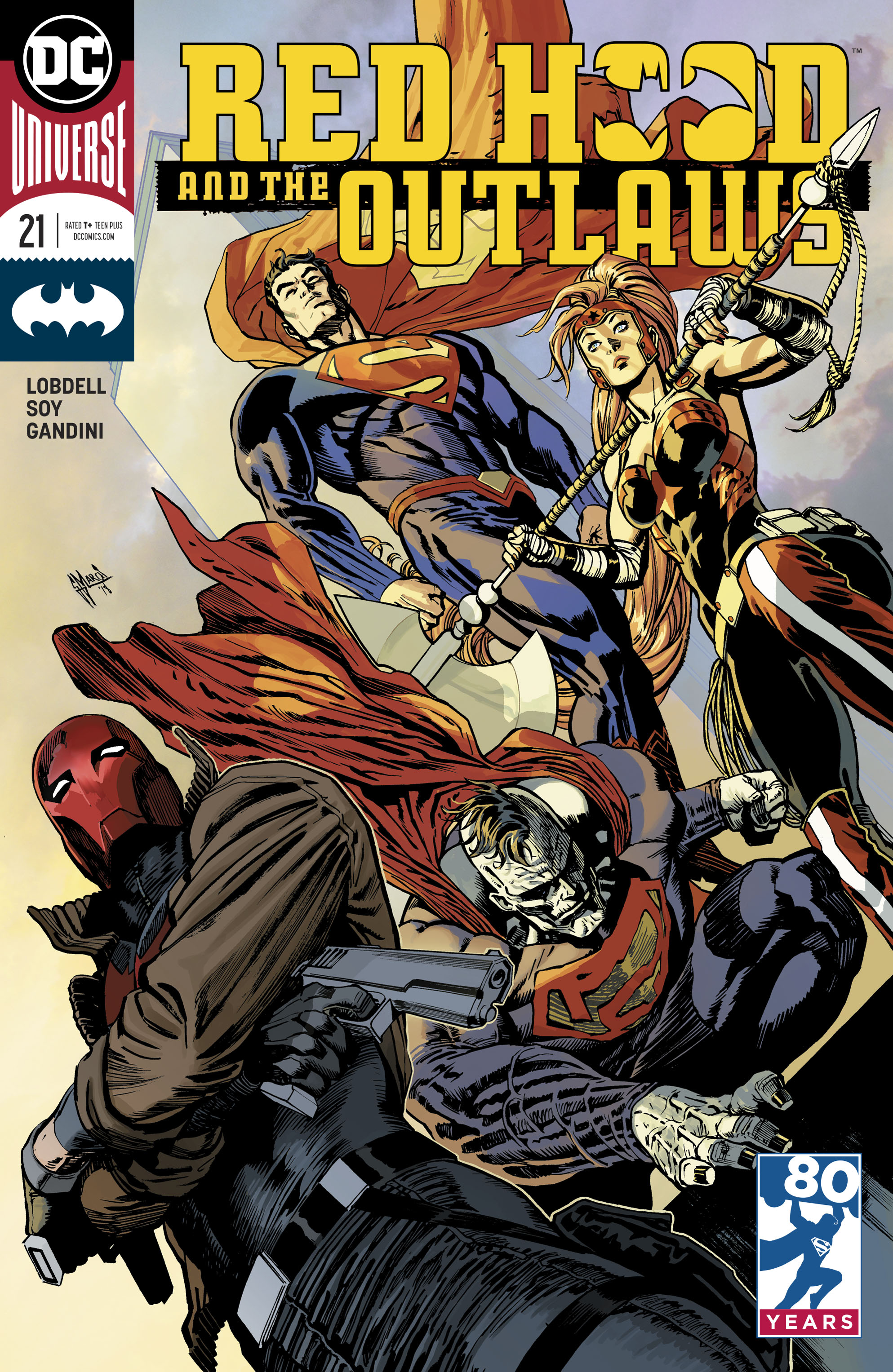 RED HOOD AND THE OUTLAWS #21 VAR ED
