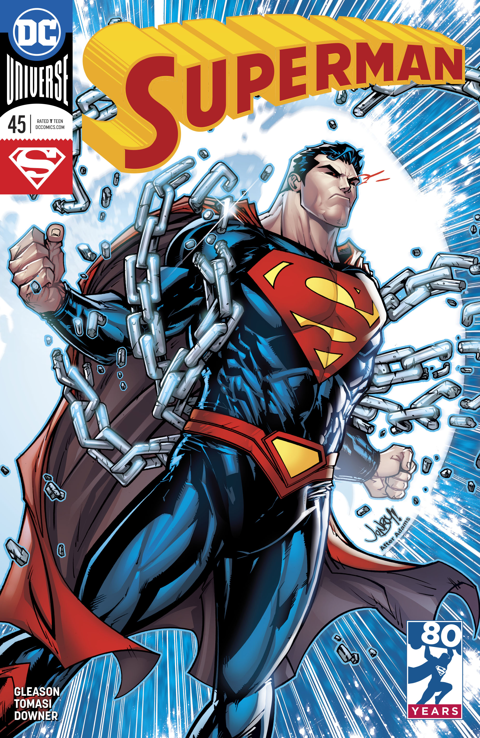 SUPERMAN #45 VAR ED